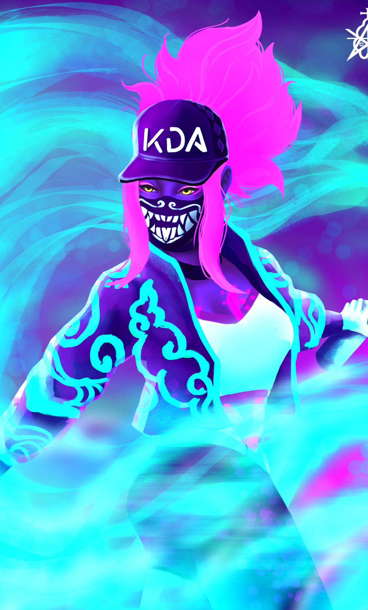1280x2120 Kda Akali Chroma Iphone 6 Hd 4k Wallpapers Images