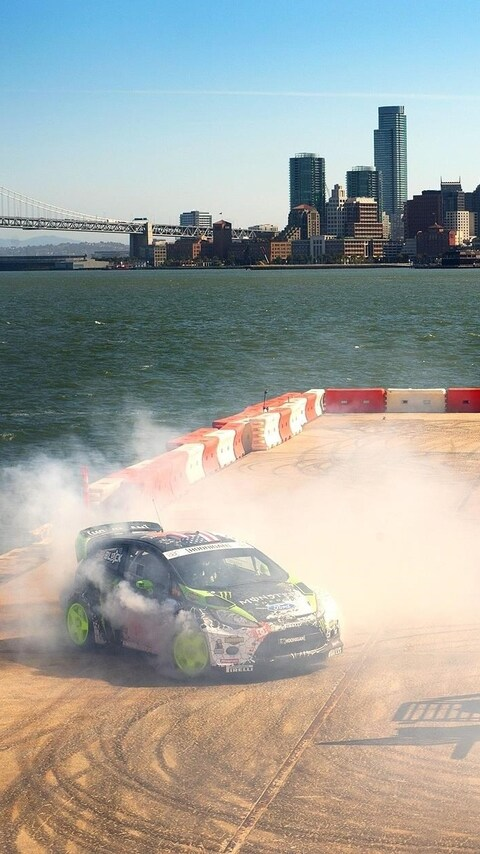 480x854 Ken Block Drift Android One Hd 4k Wallpapers Images