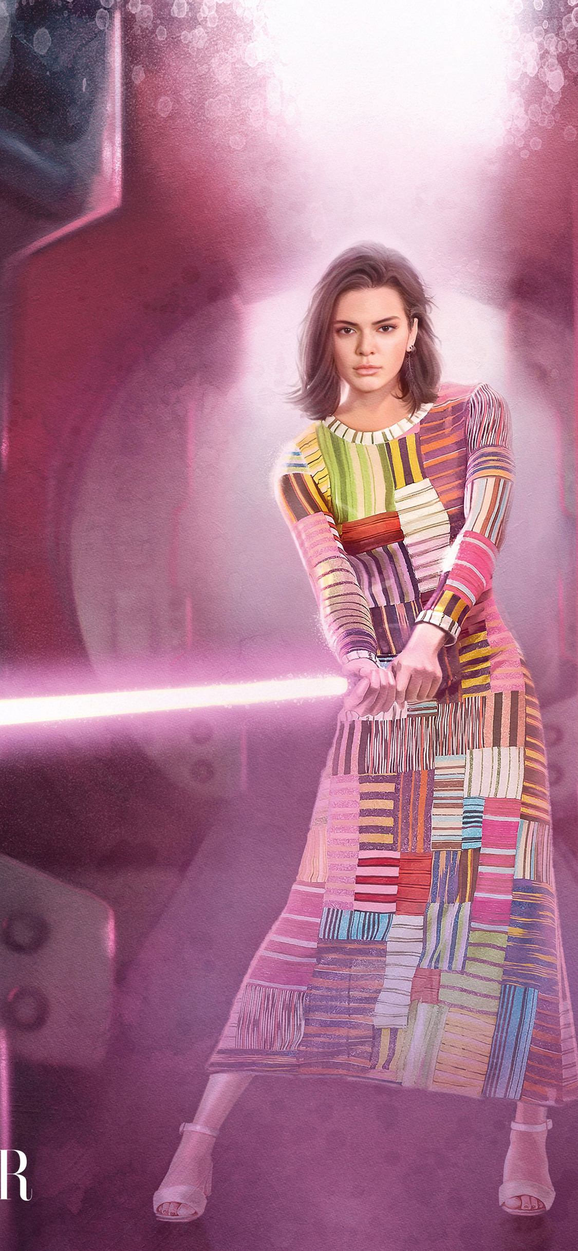 kendall jenner in star wars inspired editorial harper bazaar wm
