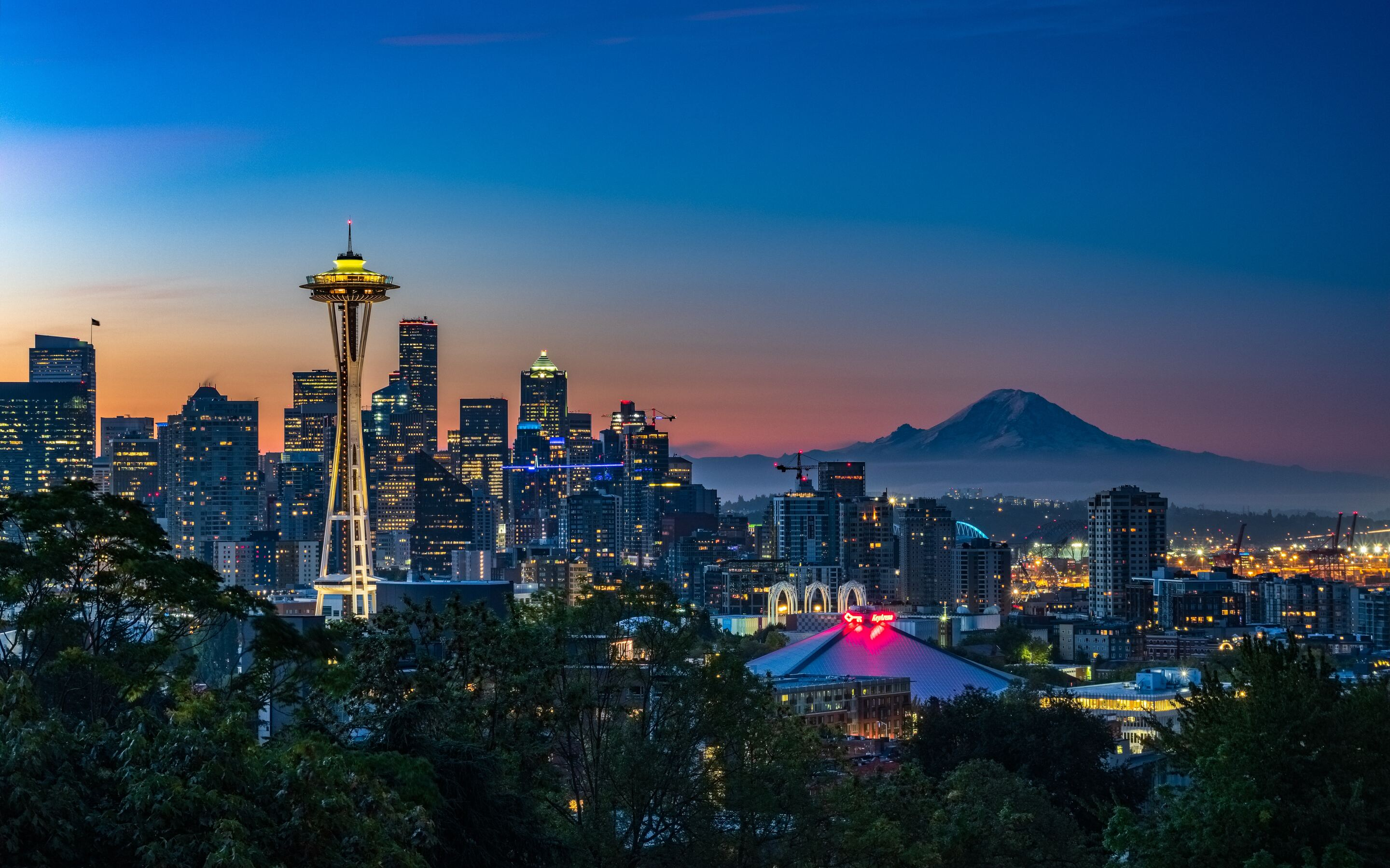 2880x1800 Kerry Park Seattle United States 5k Macbook Pro Retina Hd 4k Wallpapers Images Backgrounds Photos And Pictures