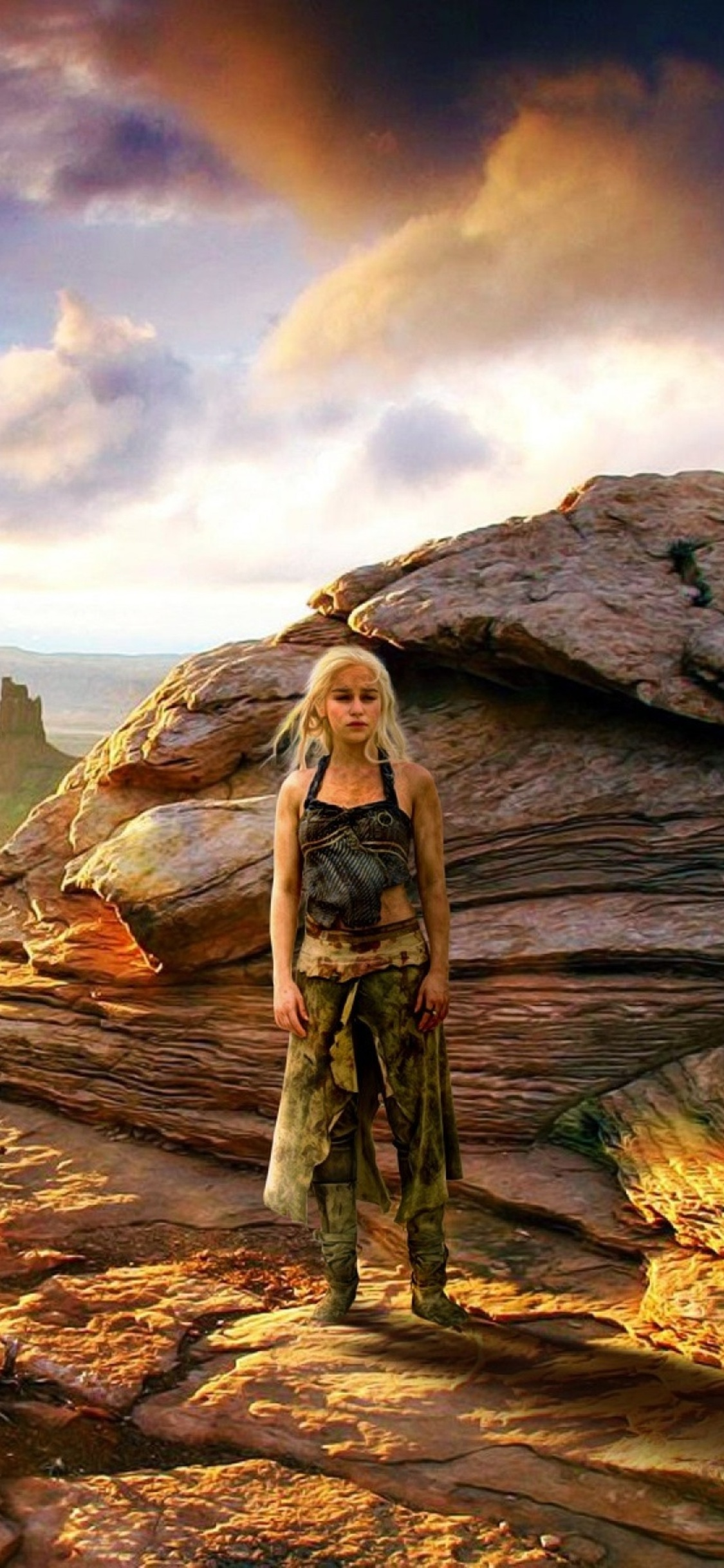1125x2436 Khaleesi With Dragon Game Of Thrones Iphone XS ...