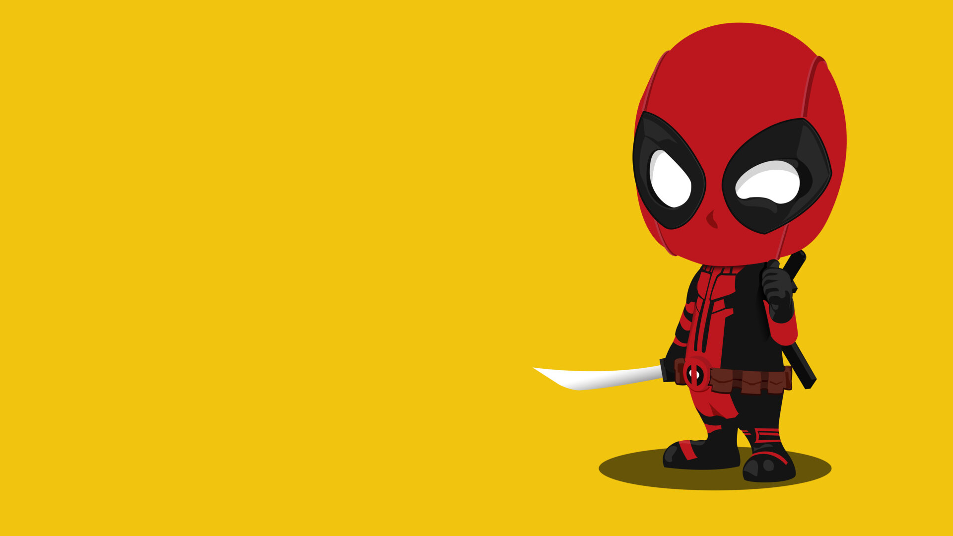 1920x1080 Kid Deadpool Minimalism Laptop Full Hd 1080p Hd 4k Wallpapers Images Backgrounds Photos And Pictures