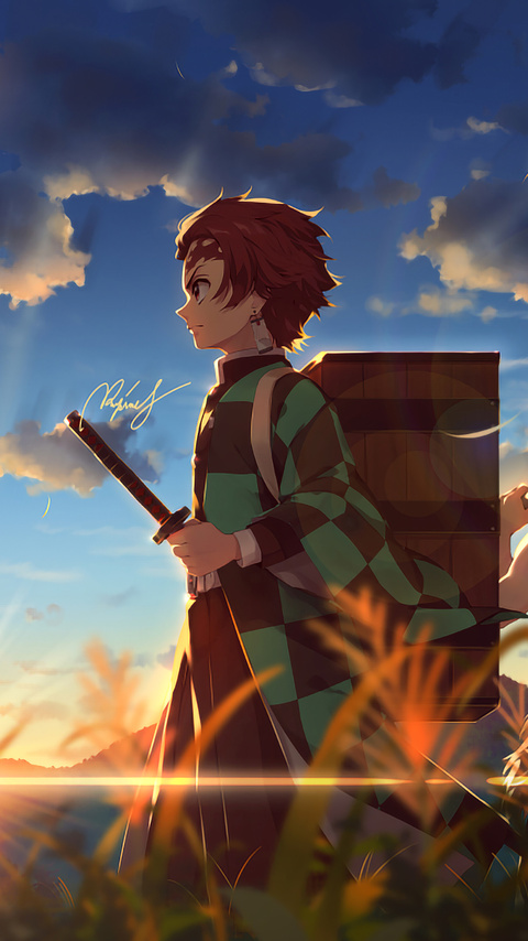 480x854 Kimetsu No Yaiba Anime 4k Android One Hd 4k Wallpapers Images Backgrounds Photos And Pictures