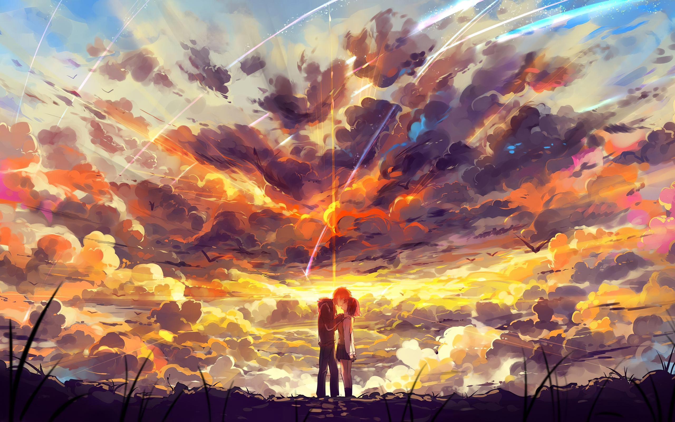 2560x1600 Kimi No Nawa Anime Couple 5k 2560x1600 ...