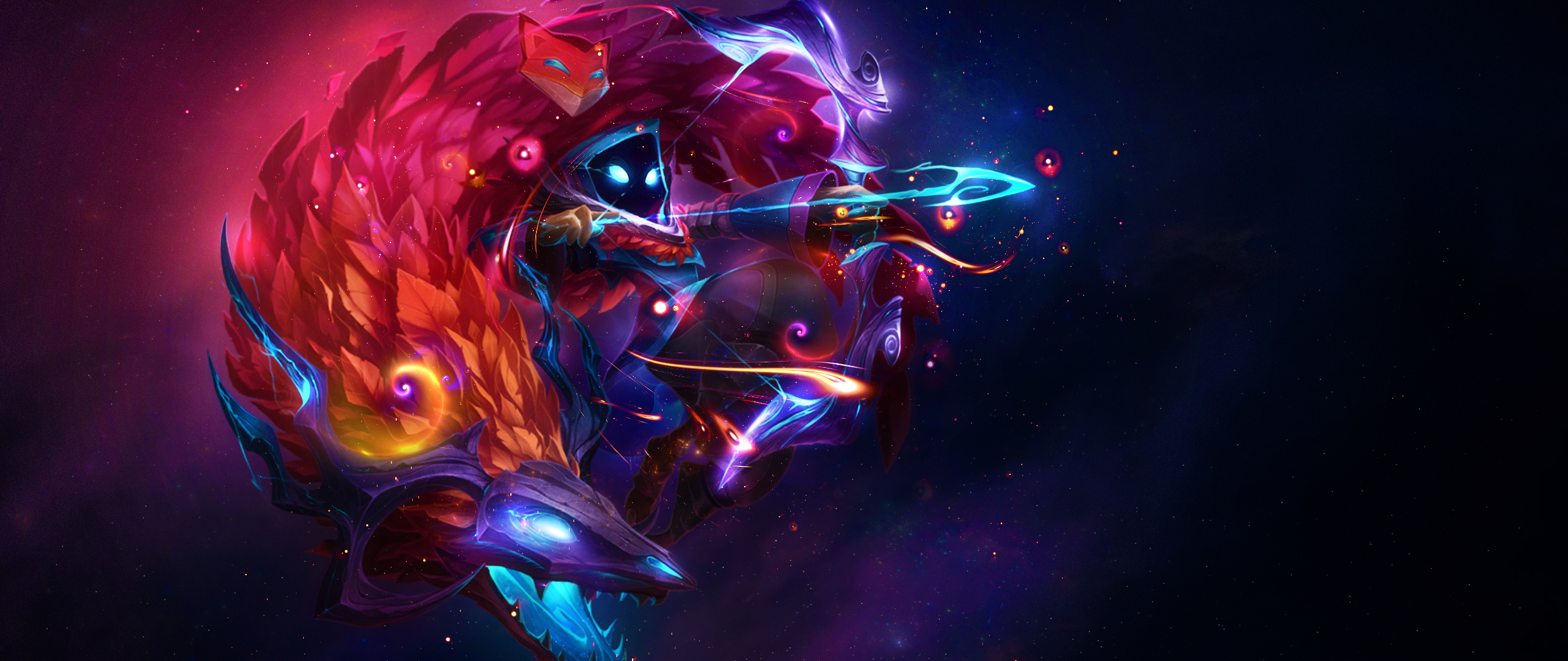 2560x1080 Kindred League Of Legends 2560x1080 Resolution Hd
