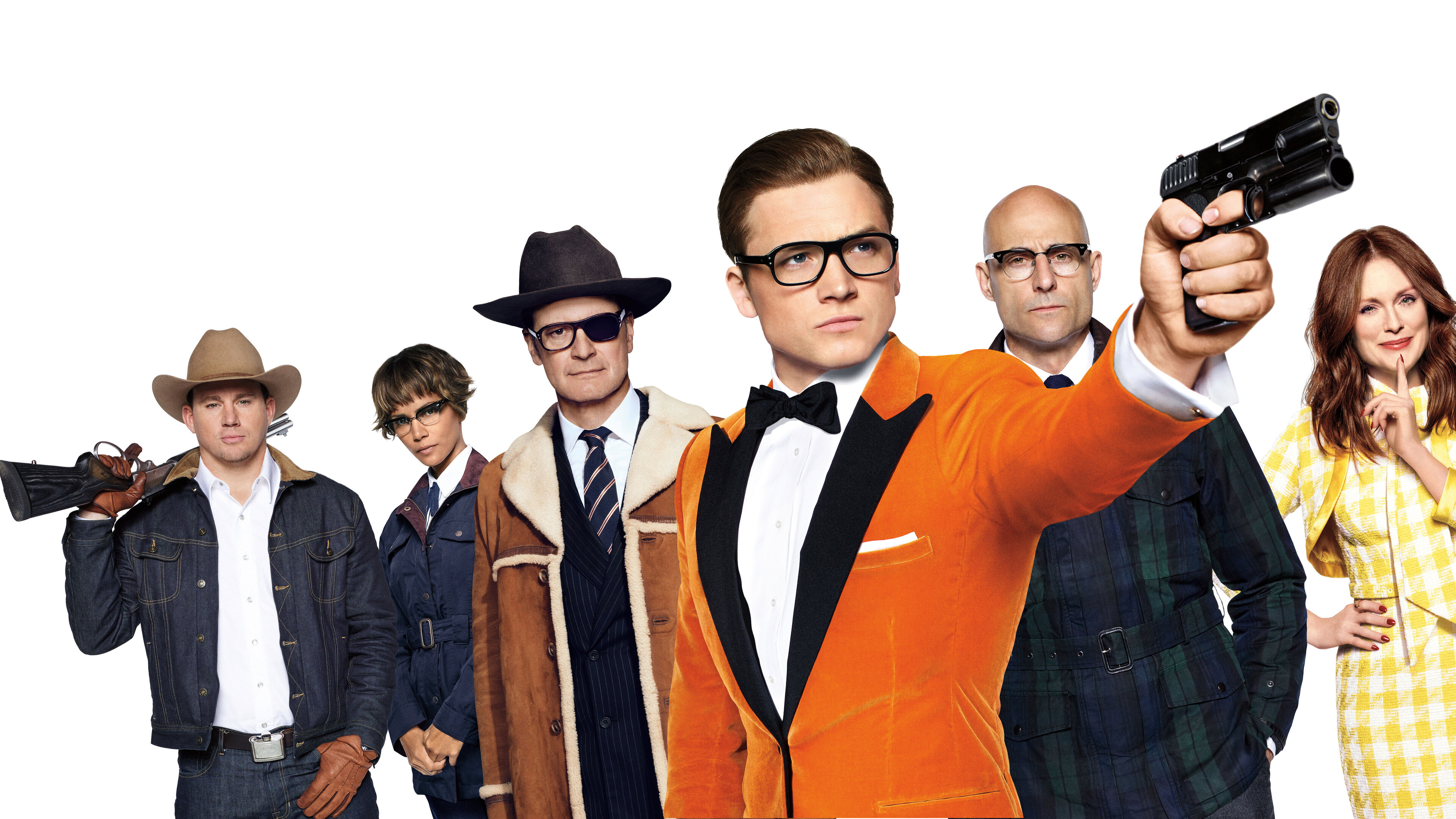 Kingsman The Golden Circle Wallpaper: 3840x2160 Kingsman The Golden Circle 8k 4k HD 4k