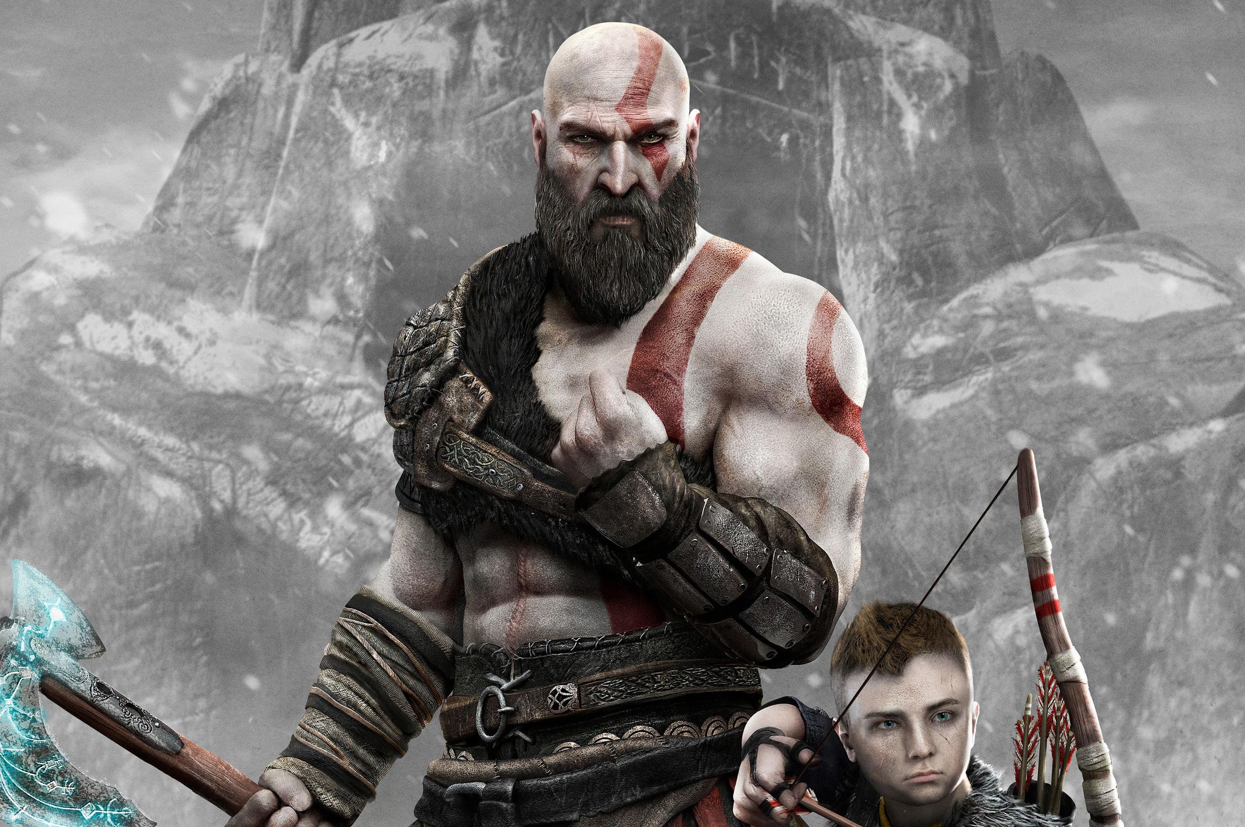 2560x1700 Kratos And Atreus God Of War 4 4k 2018 Chromebook