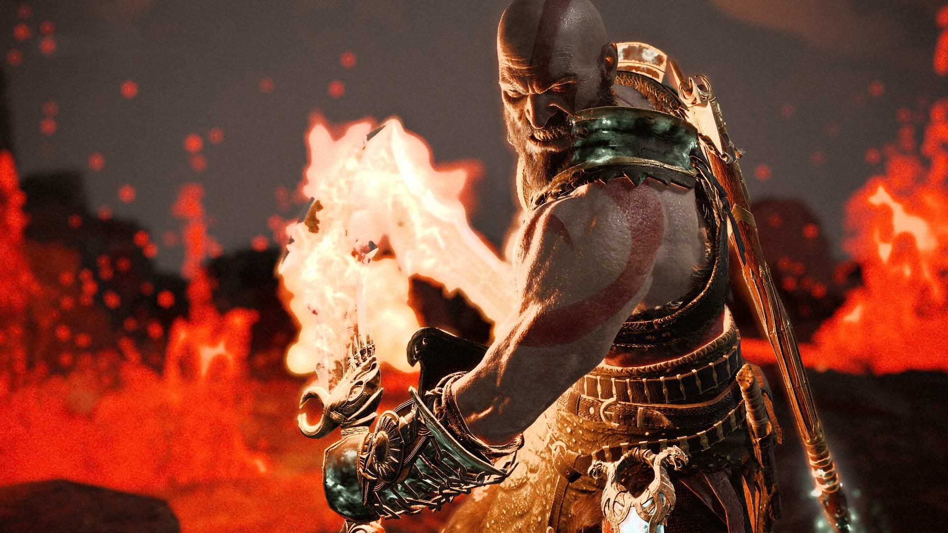 1920x1080 Kratos God Of War 4 Game Laptop Full Hd 1080p Hd