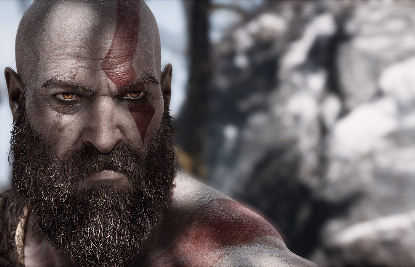1400x900 Kratos God Of War 4 Video Game 1400x900 Resolution