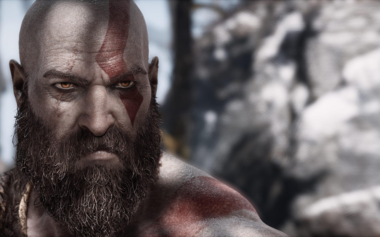 2880x1800 Kratos God Of War 4 Video Game Macbook Pro Retina