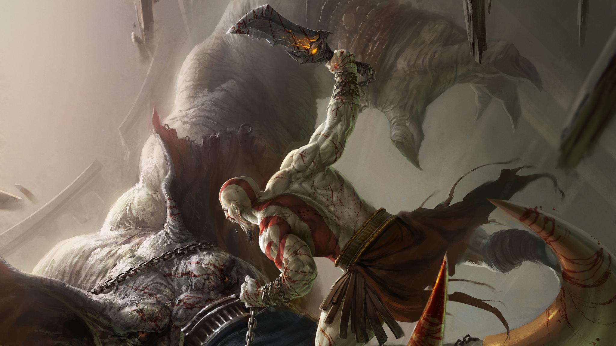 Kratos God Of War Ascension 5k 87