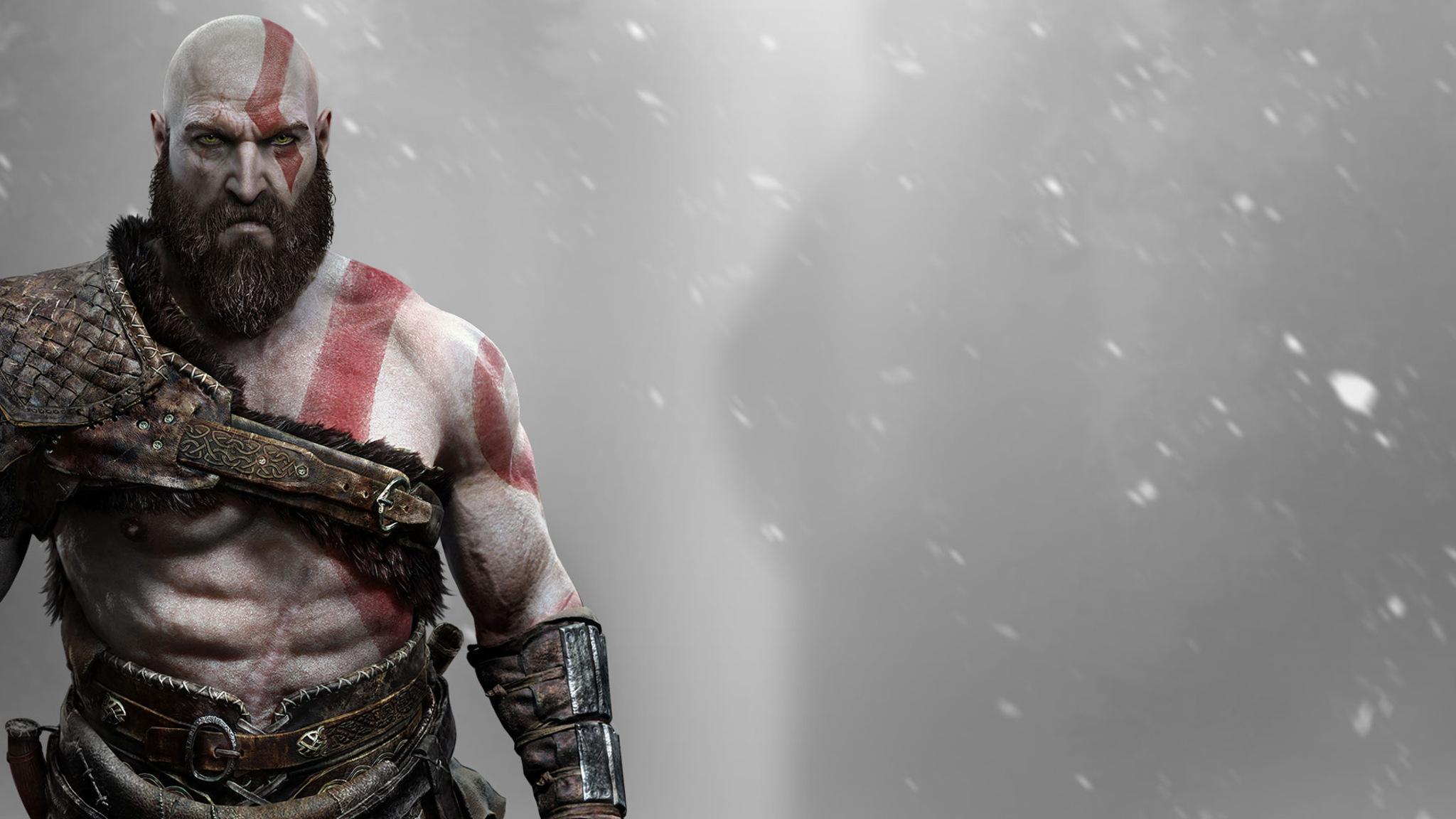 2048x1152 Kratos God Of War 2048x1152 Resolution Hd 4k Wallpapers