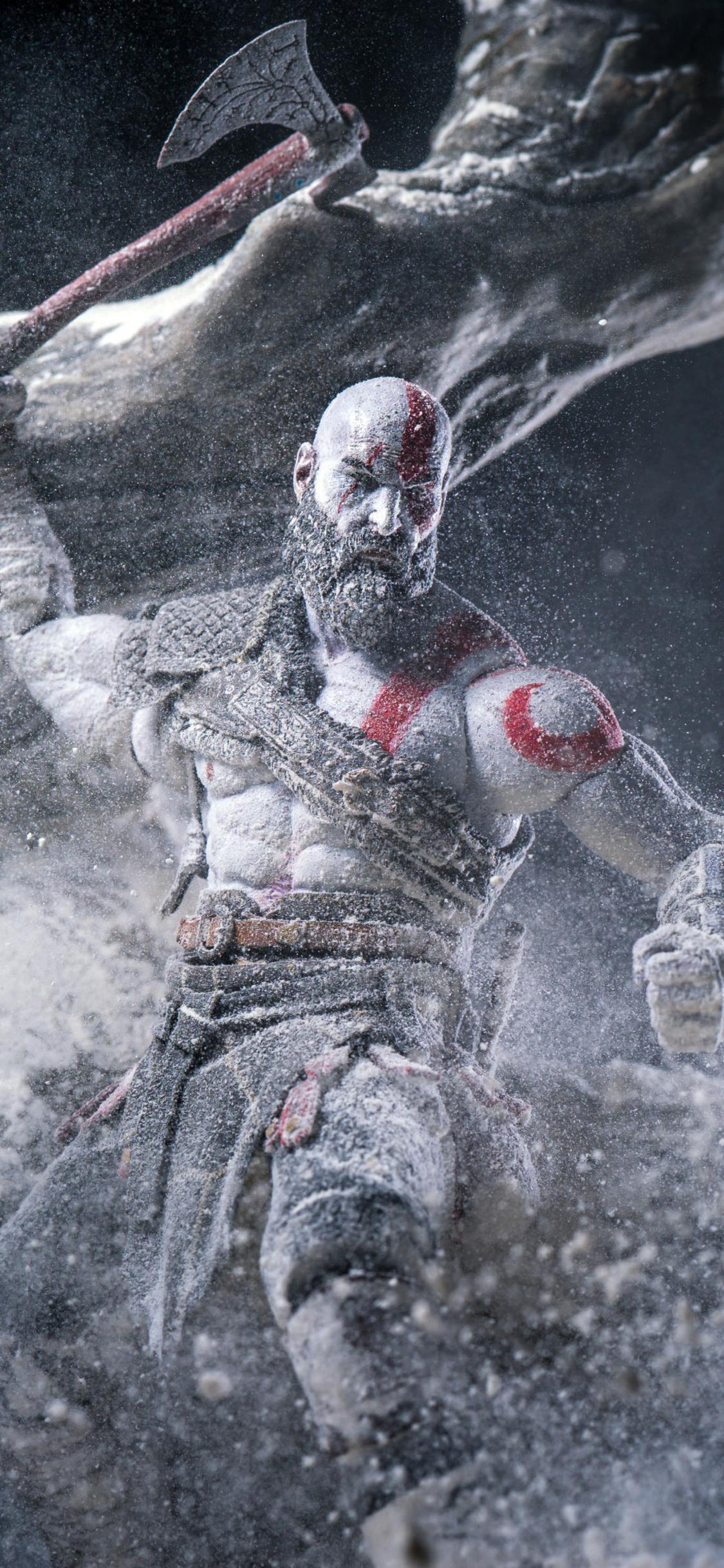 1125x2436 Kratos God Of War Video Game Iphone Xs Iphone 10