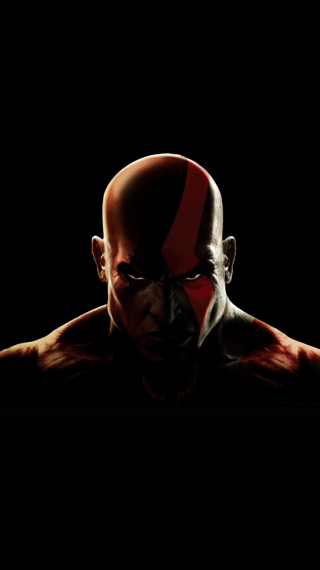 1080x1920 Kratos God Of War Warrior Iphone 7 6s 6 Plus