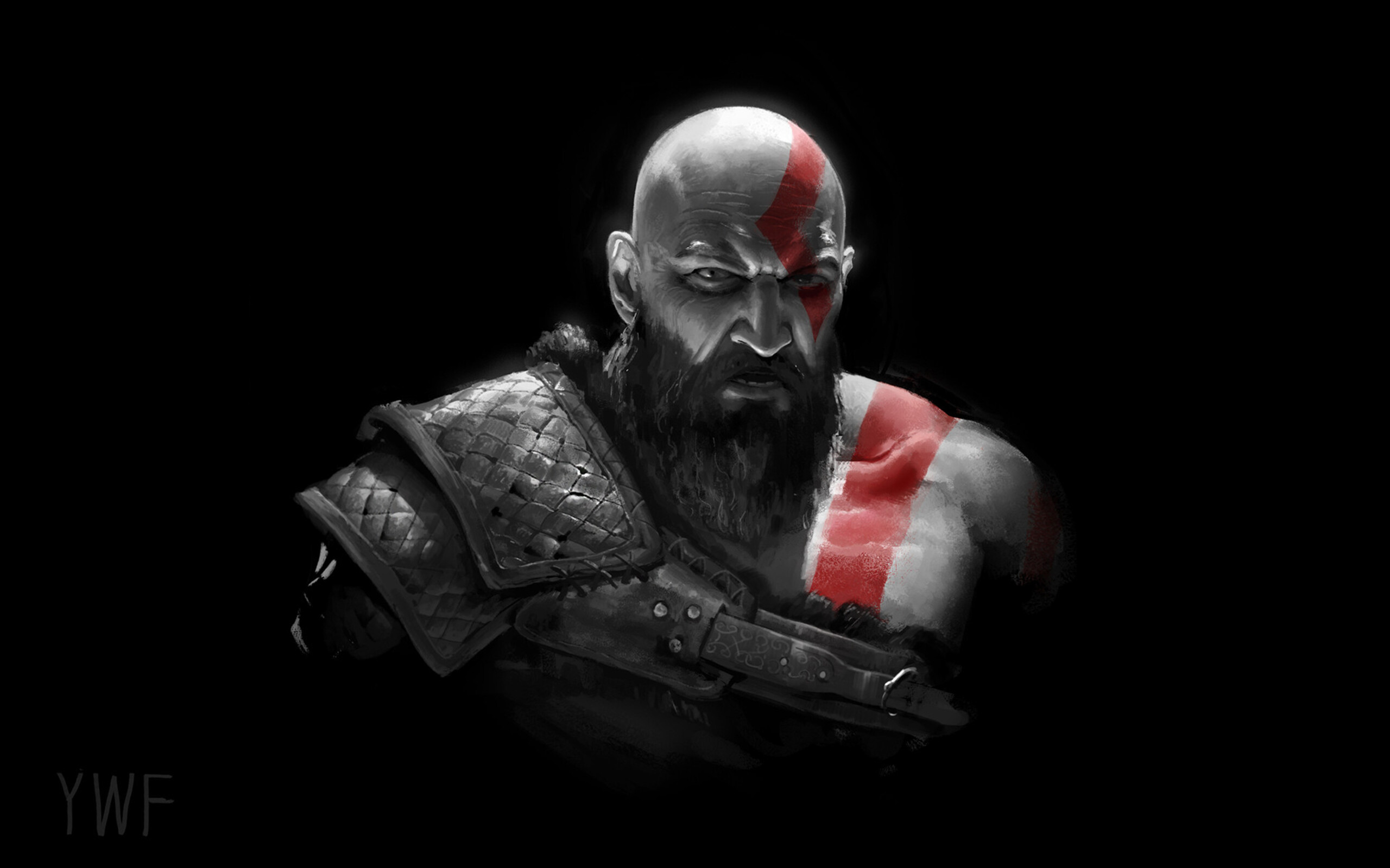 2560x1600 Kratos In God Of War 2018 2560x1600 Resolution Hd