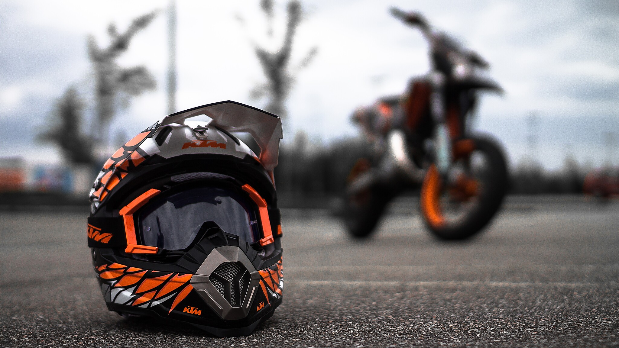 10 New Ktm Dirt Bike Wallpapers Full Hd 1080p For Pc: 2048x1152 KTM Helmet 2048x1152 Resolution HD 4k Wallpapers