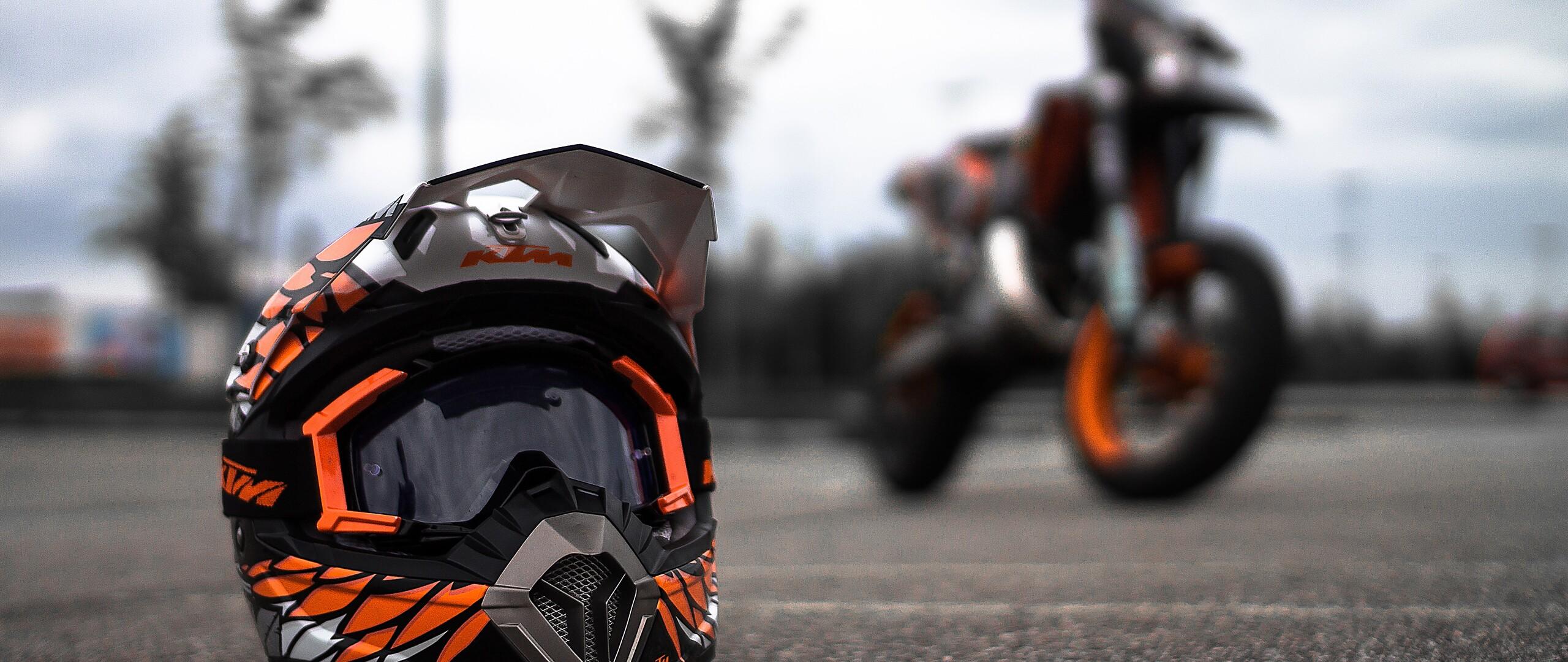 ktm helmet image