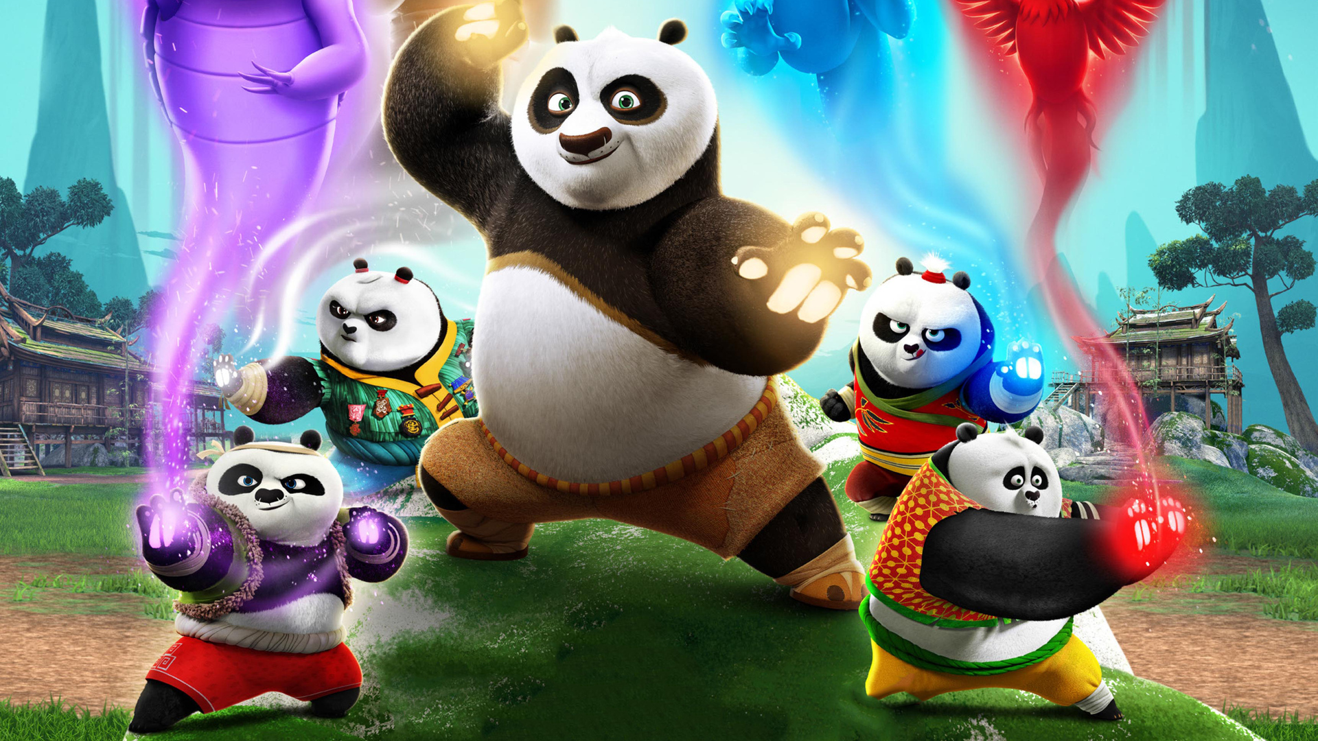 1920x1080 Kung Fu Panda The Paws Of Destiny 2018 Laptop Full