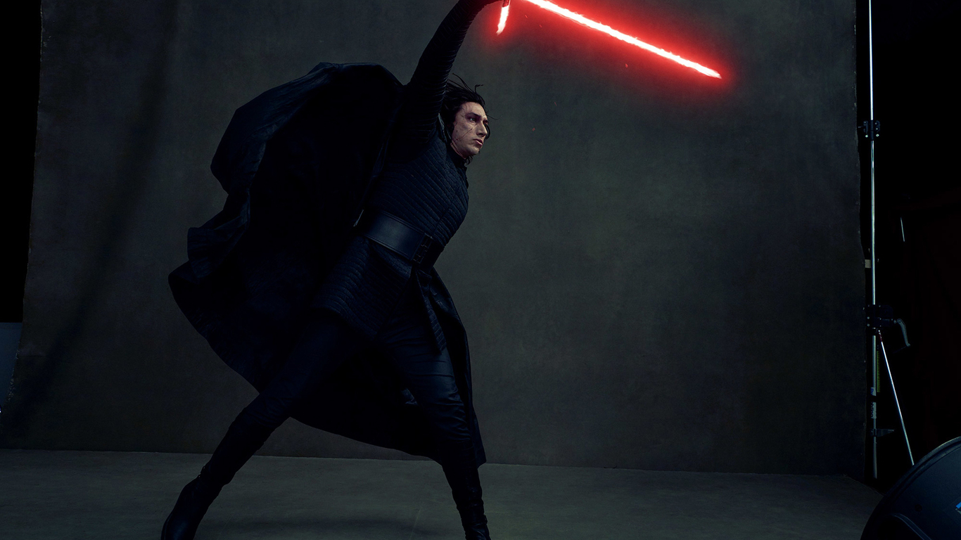 1366x768 Kylo Ren In Star Wars The Last Jedi 4k Vanity Fair 1366x768 Resolution Hd 4k Wallpapers Images Backgrounds Photos And Pictures