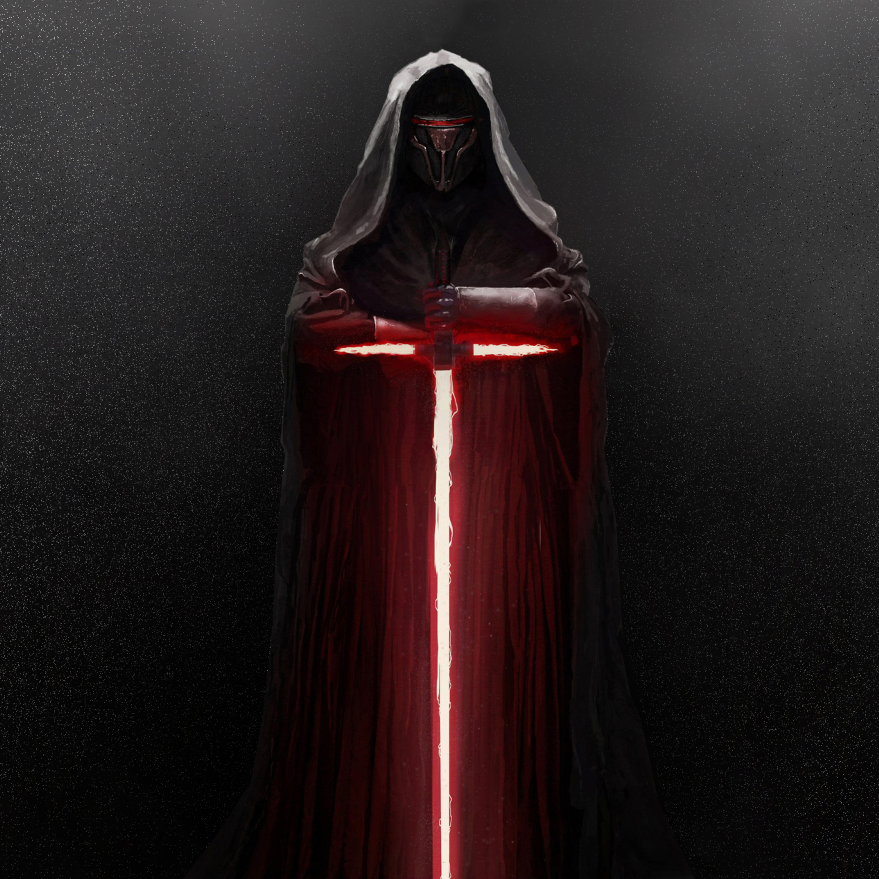 2932x2932 Kylo Ren Lightsaber Star Wars Ipad Pro Retina Display Hd 4k Wallpapers Images Backgrounds Photos And Pictures