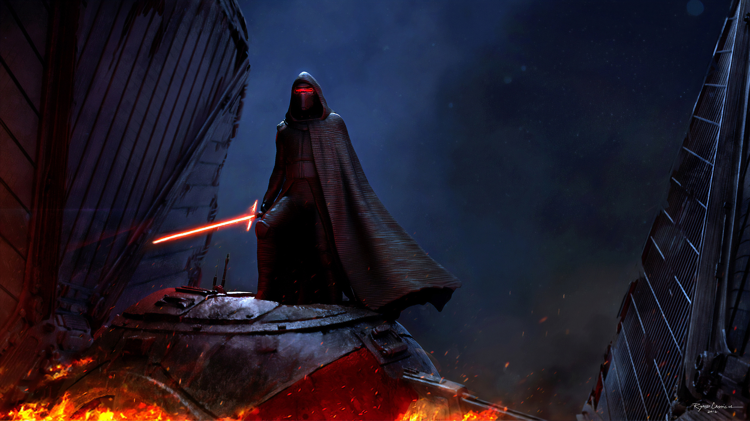 2560x1440 Kylo Ren Star Wars 4k 1440p Resolution Hd 4k Wallpapers Images Backgrounds Photos And Pictures
