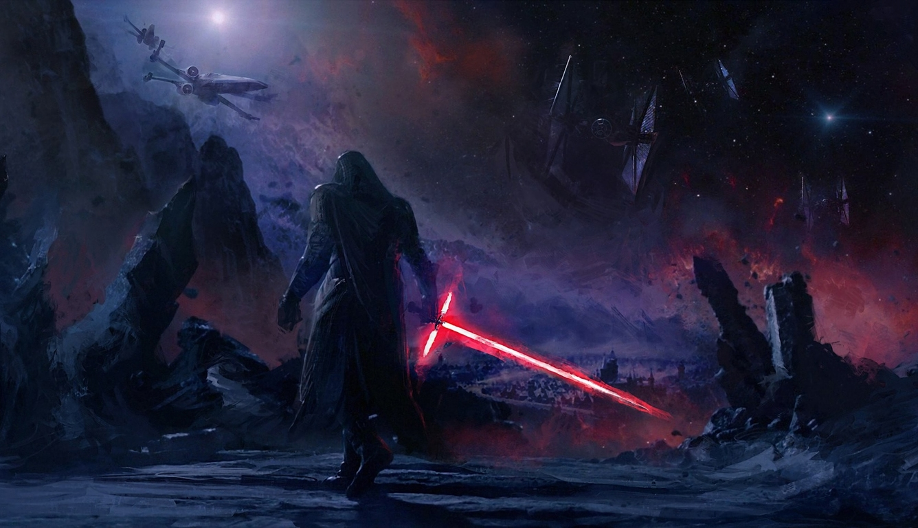 1336x768 Kylo Ren Star Wars Art Laptop Hd Hd 4k Wallpapers Images Backgrounds Photos And Pictures