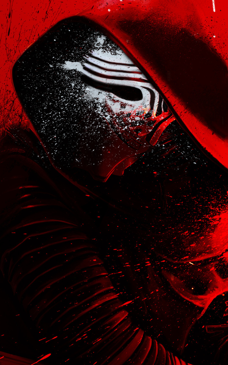 800x1280 Kylo Ren Star Wars Hd Nexus 7 Samsung Galaxy Tab 10 Note Android Tablets Hd 4k Wallpapers Images Backgrounds Photos And Pictures