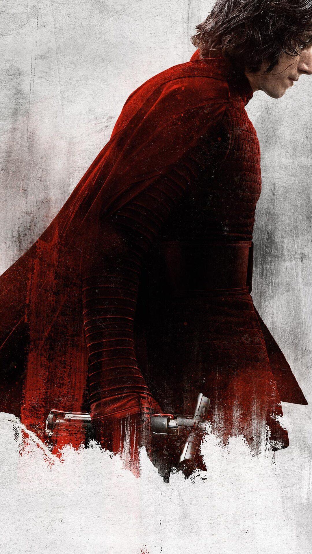 1080x1920 Kylo Ren Star Wars The Last Jedi Iphone 7,6s,6 ...