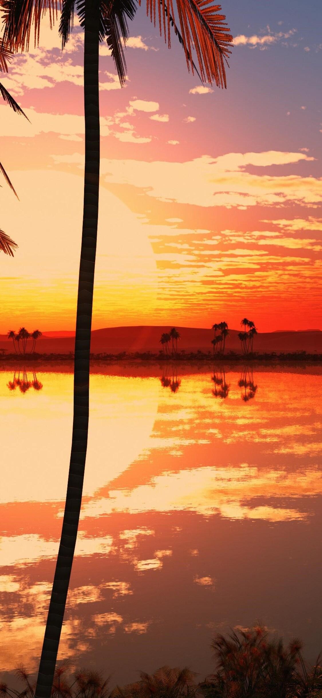 1125x2436 Lake Sunset 4k Iphone Xs Iphone 10 Iphone X Hd 4k