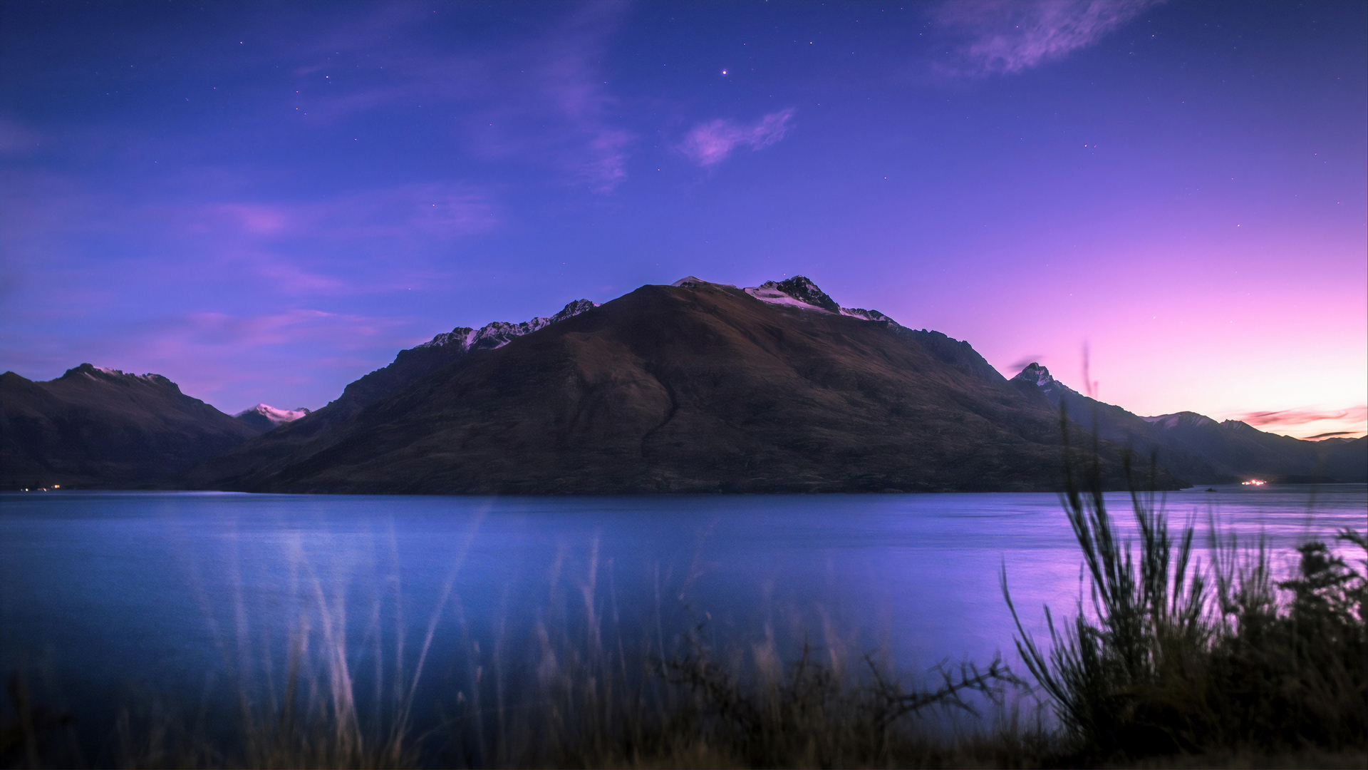 1920x1080 Lake Wakatipu In Newzealand Laptop Full HD 1080P ...