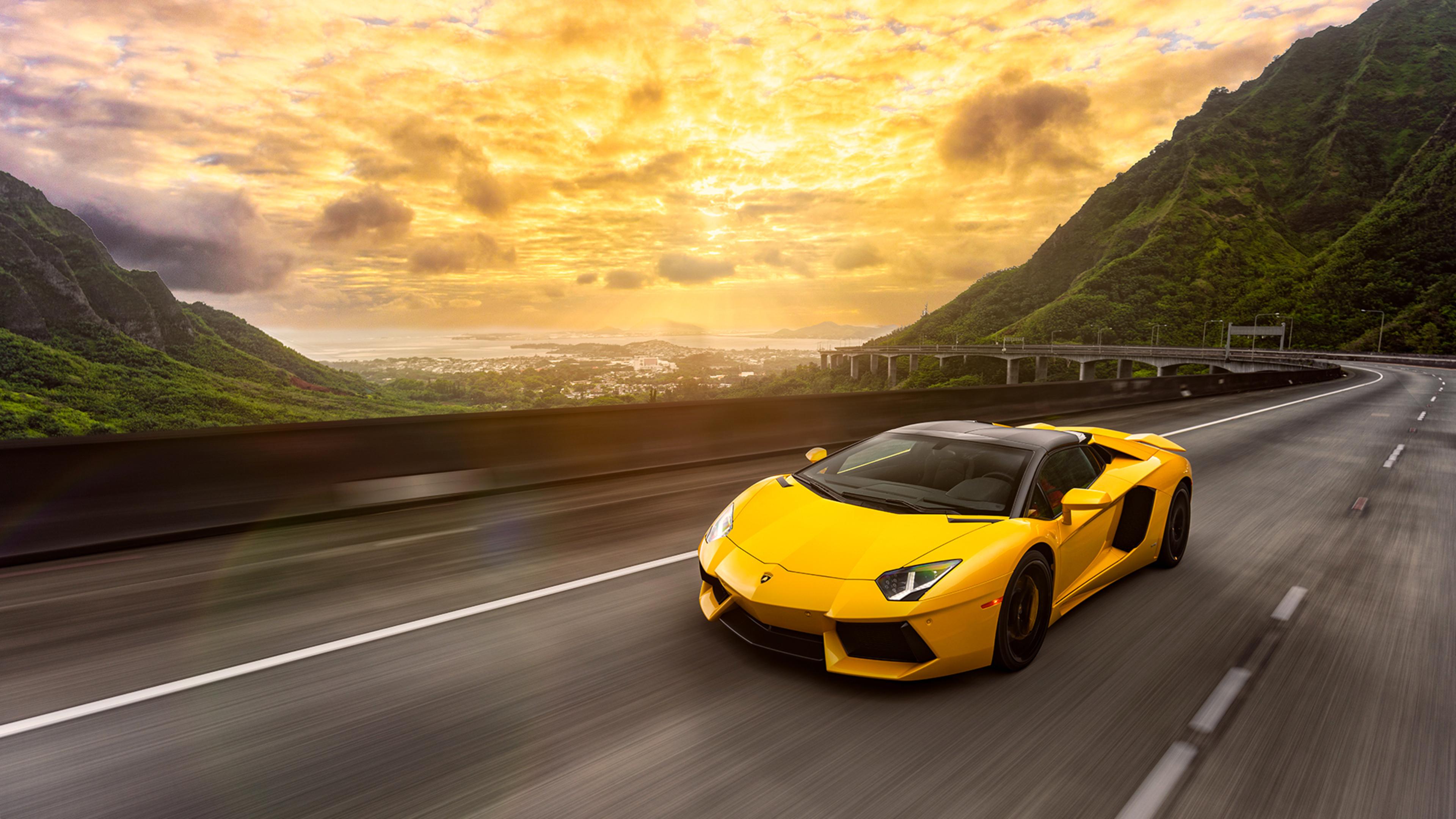 3840x2160 Lamborghini Aventador 2016 1 4k HD 4k Wallpapers ...