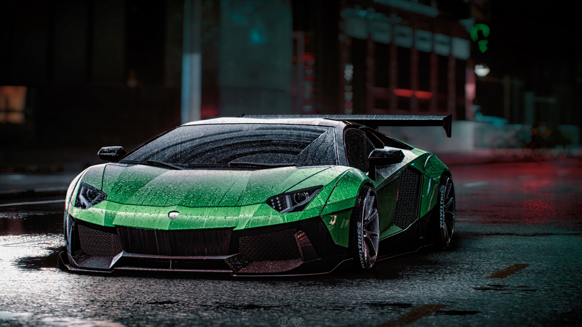 Lamborghini Aventador: Lamborghini Aventador Wallpaper 1080p