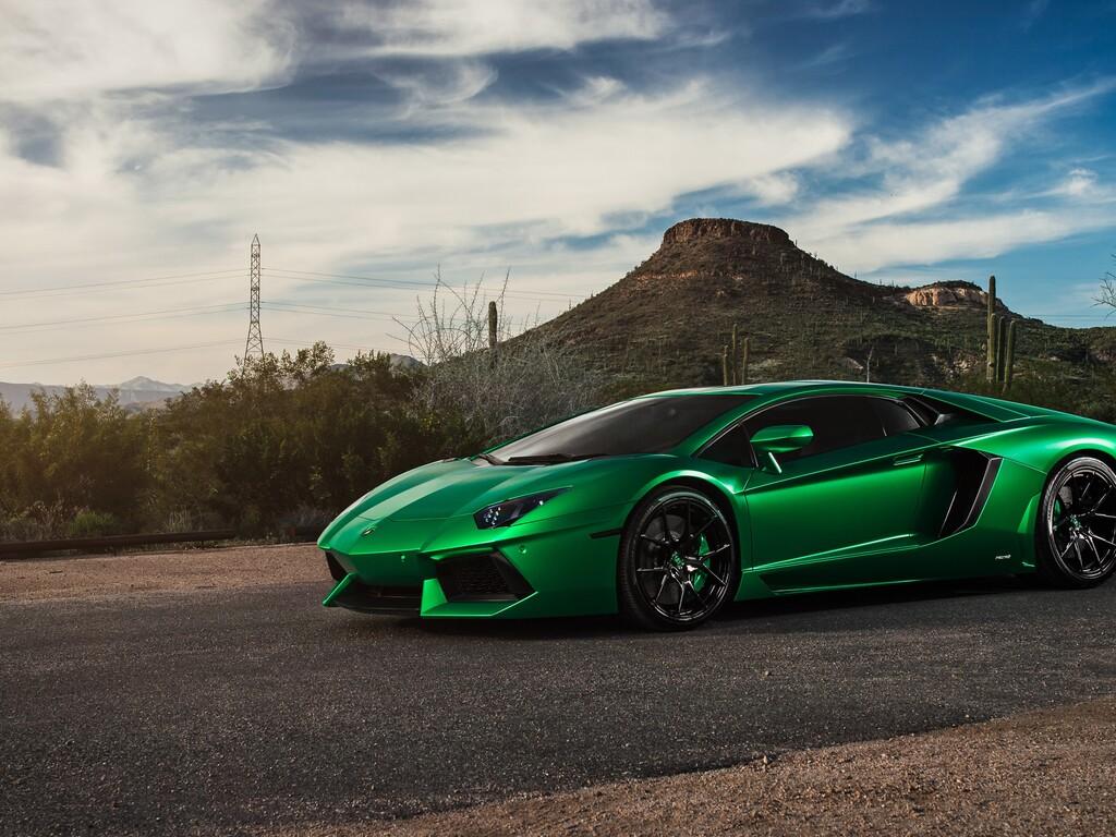 Lamborghini Aventador Green 4k Hd Cars 4k Wallpapers: 1024x768 Lamborghini Aventador Green 4k 1024x768