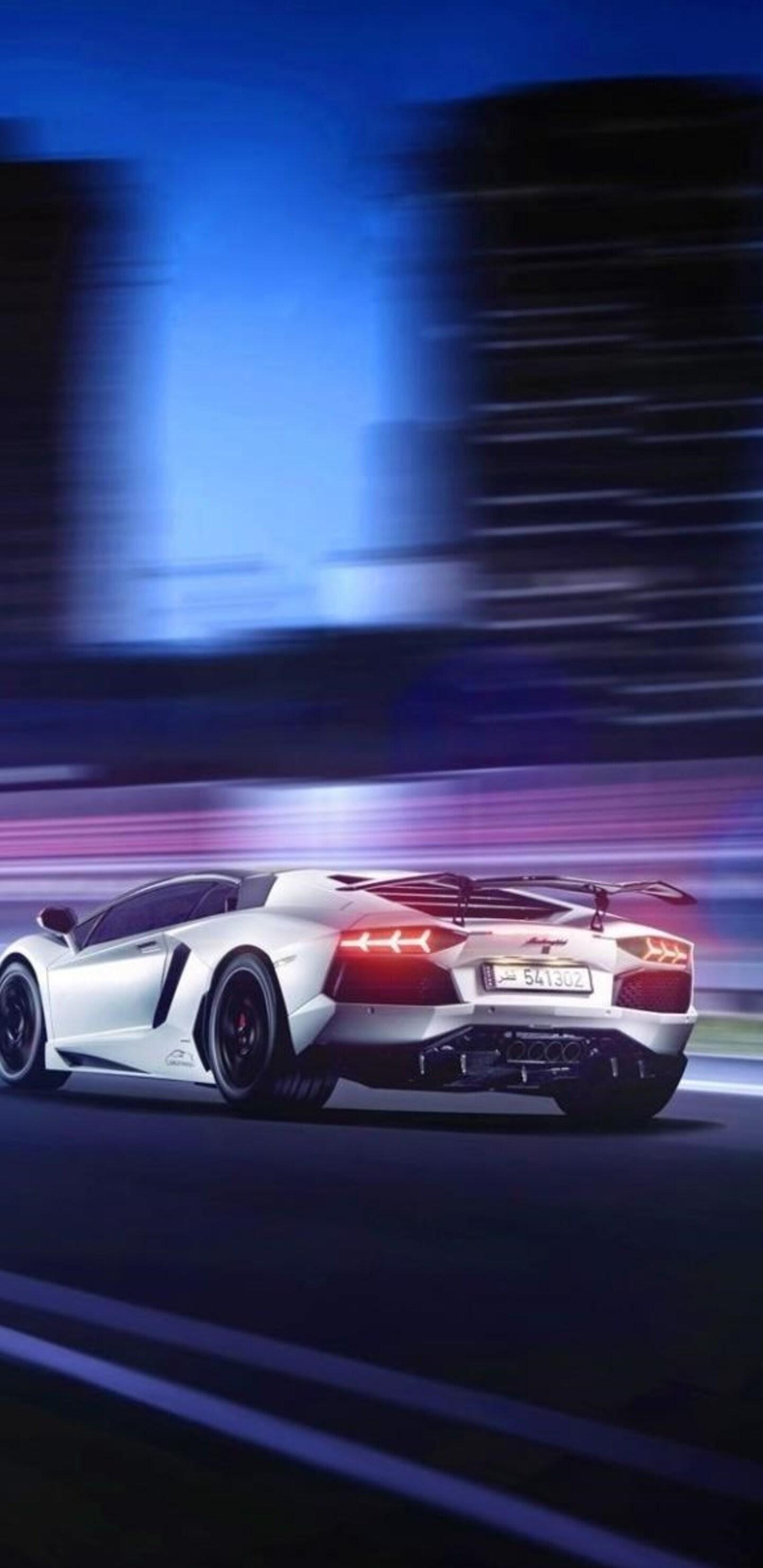 1440x2960 Lamborghini Aventador Motion Blur Samsung Galaxy Note 9 8