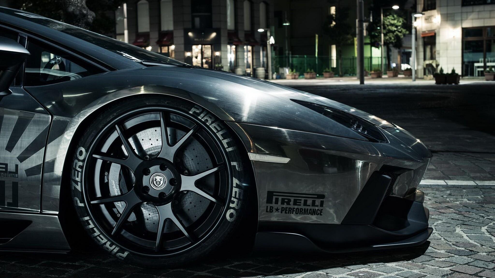 2048x1152 Lamborghini Aventador Pirelli Tyres 2048x1152