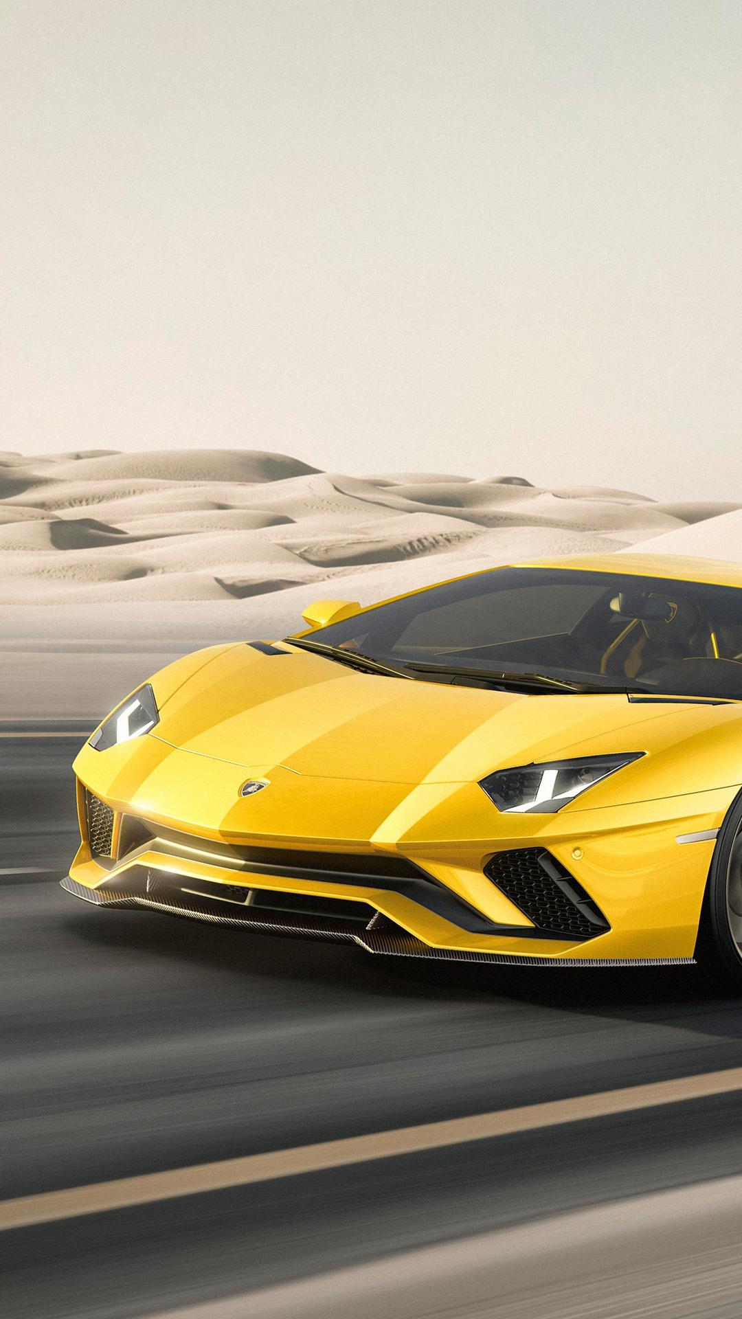 1080x1920 Lamborghini Aventador S Iphone 7 6s 6 Plus Pixel Xl One