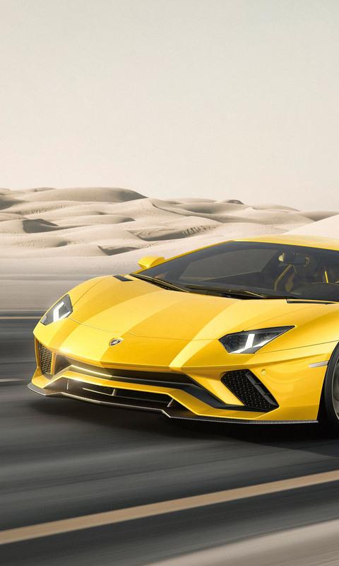 480x800 Lamborghini Aventador S Galaxy Note,HTC Desire