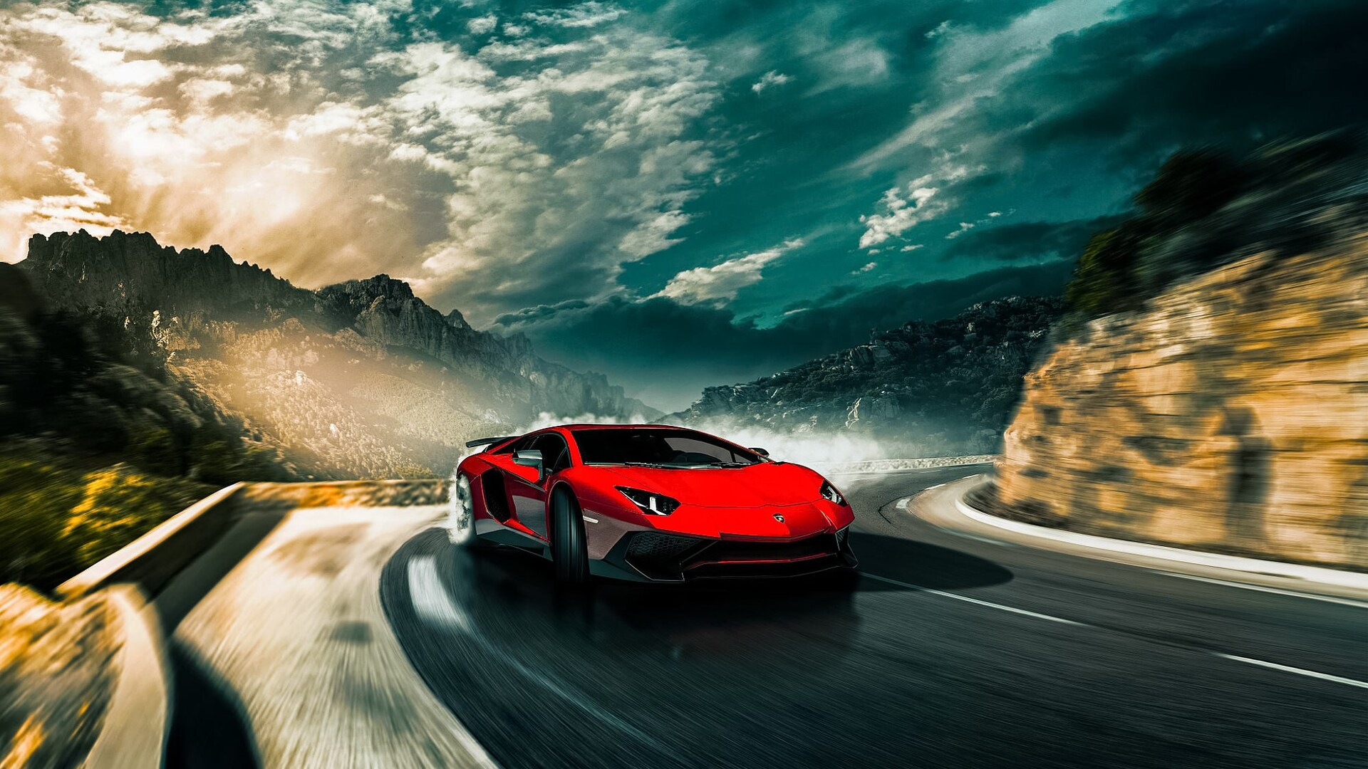 1920x1080 Lamborghini Aventador Sv Drifting Laptop Full Hd 1080p Hd 4k Wallpapers Images Backgrounds Photos And Pictures
