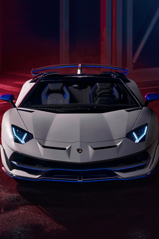 640x960 Lamborghini Aventador SVJ Roadster Xago Edition ...