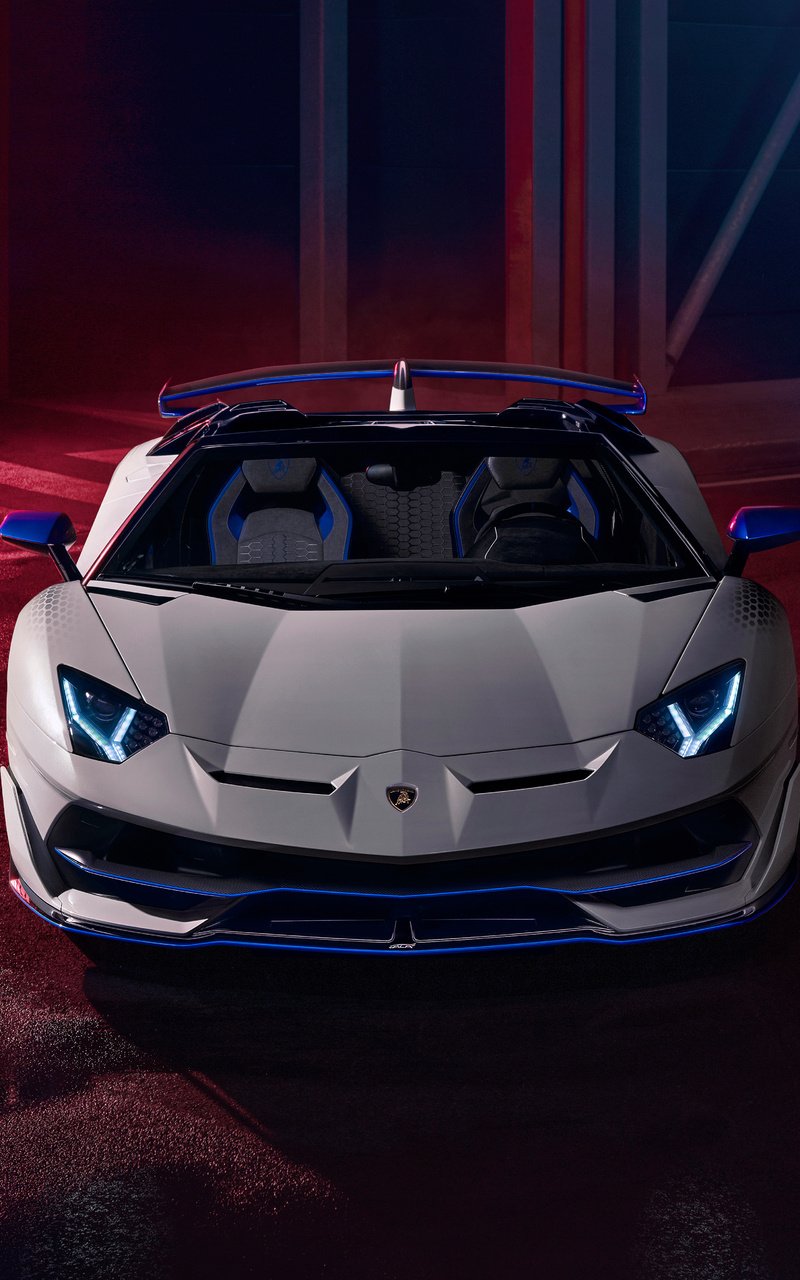 800x1280 Lamborghini Aventador SVJ Roadster Xago Edition ...