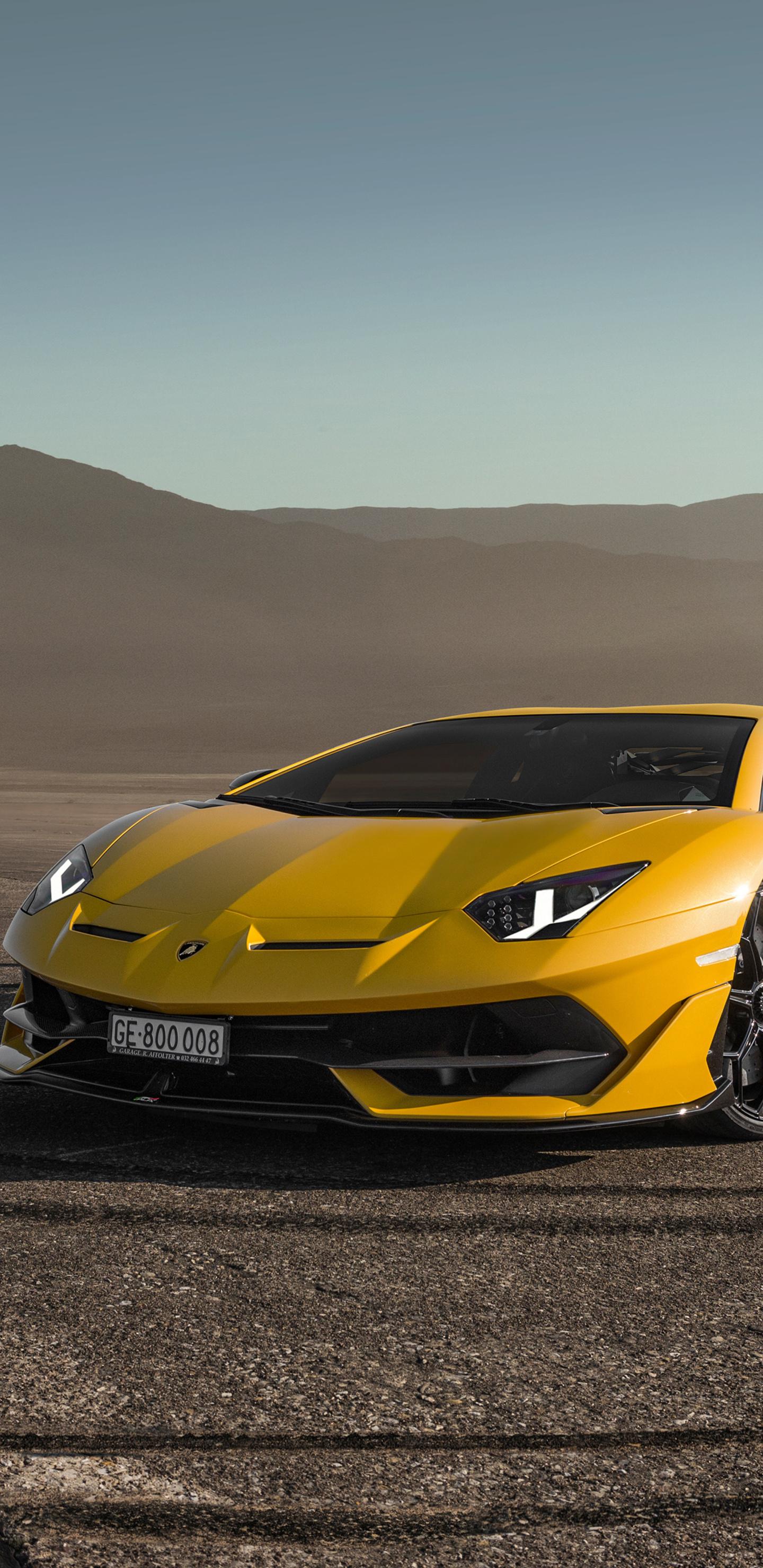 1440x2960 Lamborghini Aventardor SVJ 4k Samsung Galaxy ...