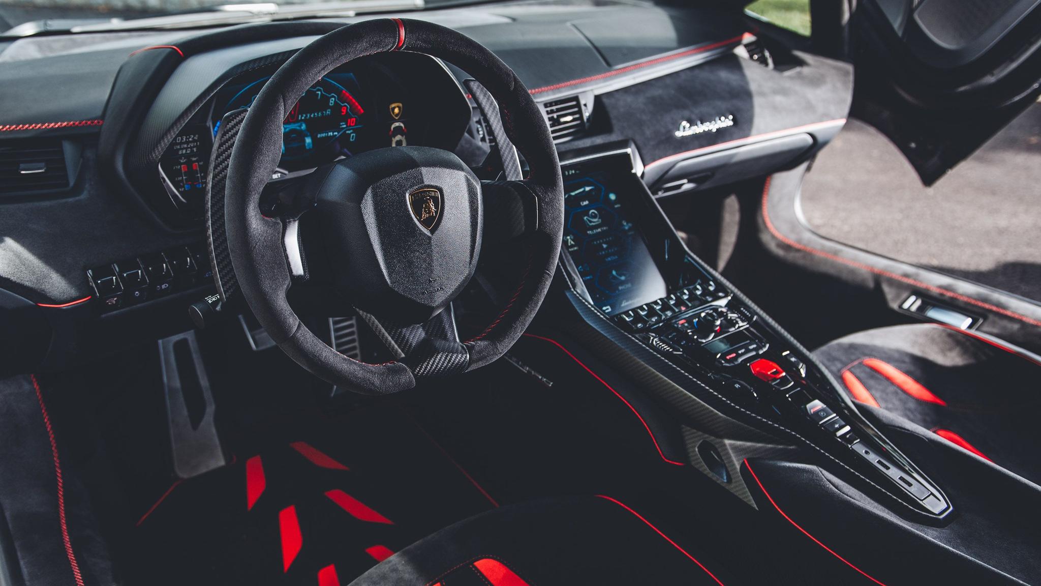 Lamborghini Interior Wallpaper