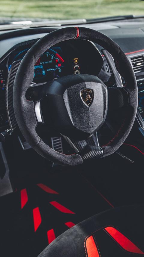 480x854 Lamborghini Centenario Coupe Interior Android One Hd