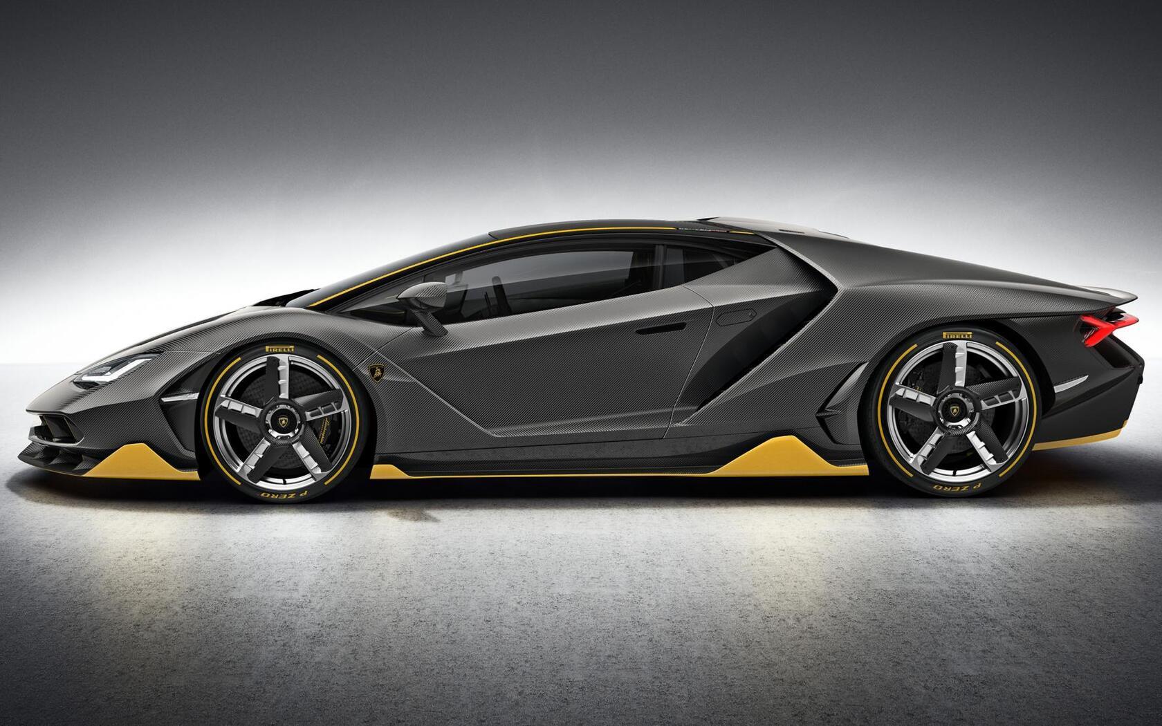 1680x1050 Lamborghini Centenario Side View 1680x1050 Resolution Hd