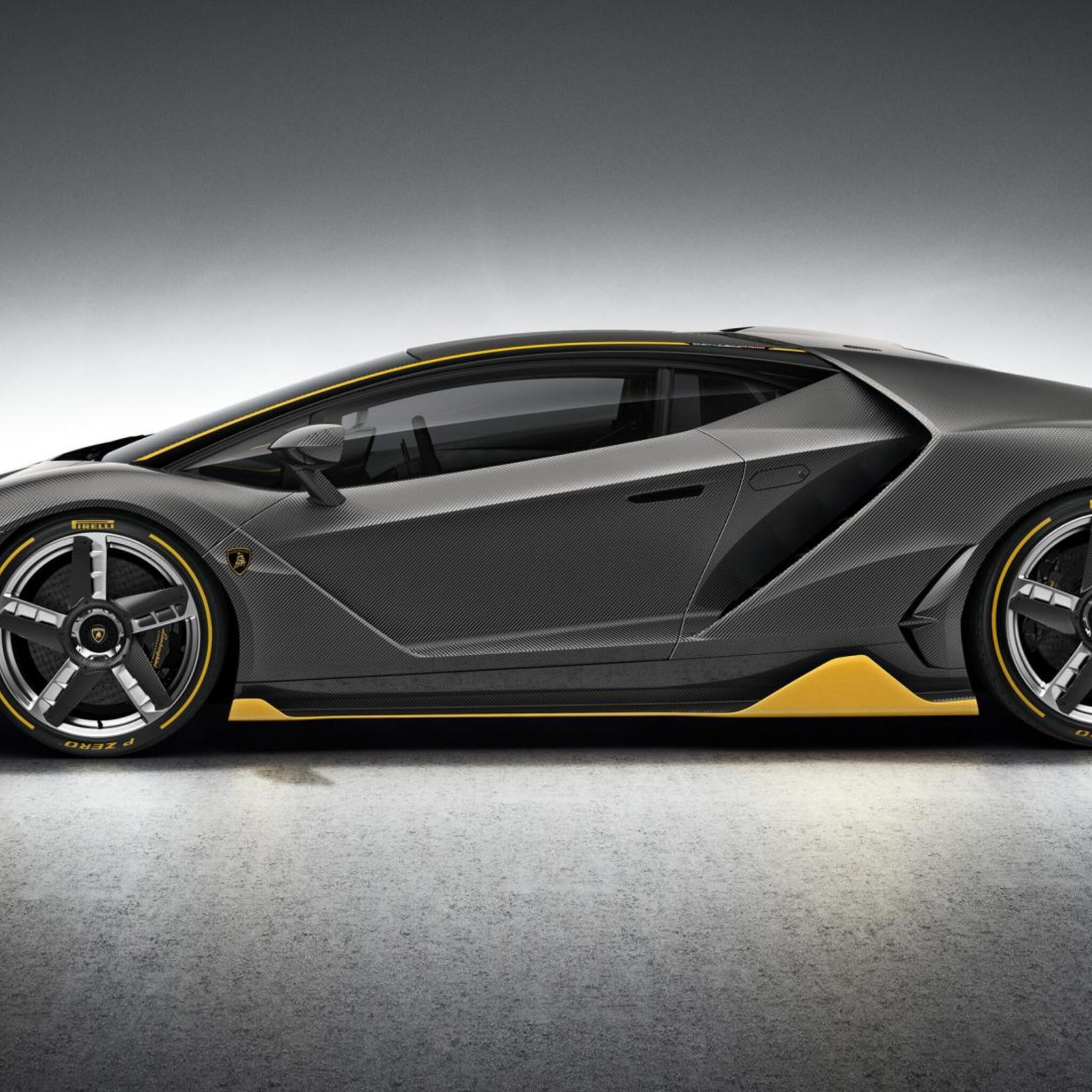 Wallpaper Lamborghini Centenario 4k Rear View