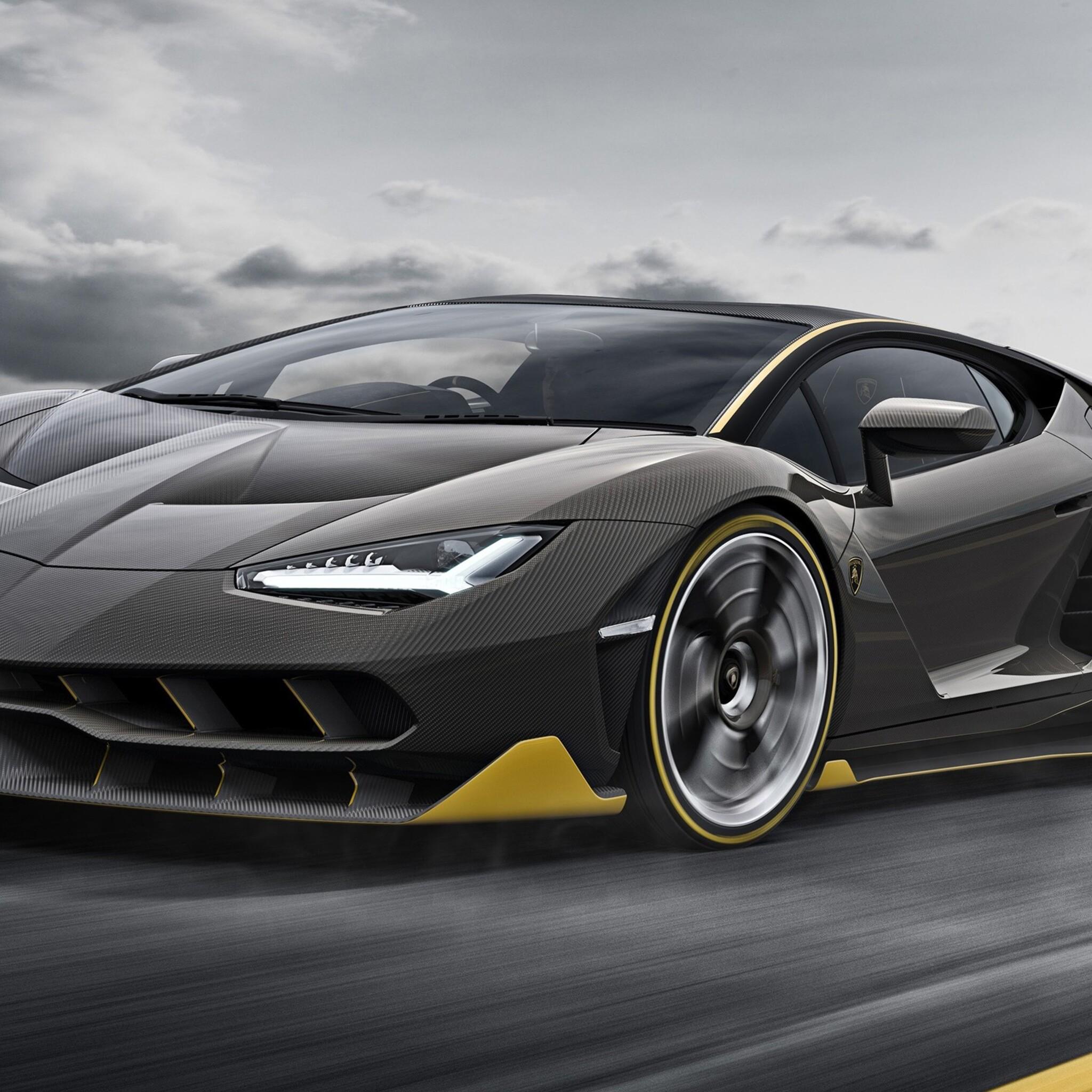 2048x2048 Lamborghini Centenario Super Car Ipad Air HD 4k