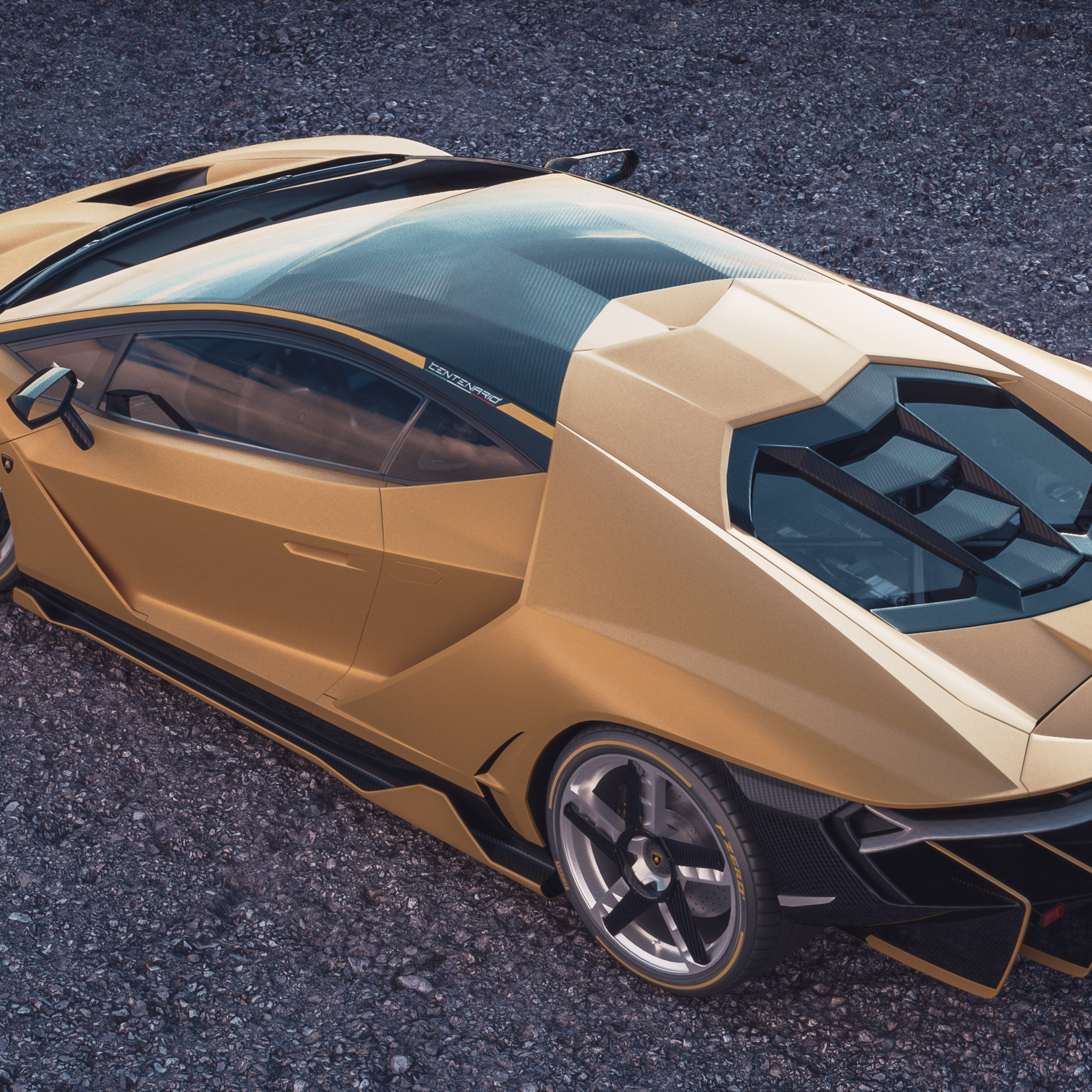 2048x2048 Lamborghini Centenario Upper View Ipad Air Hd 4k