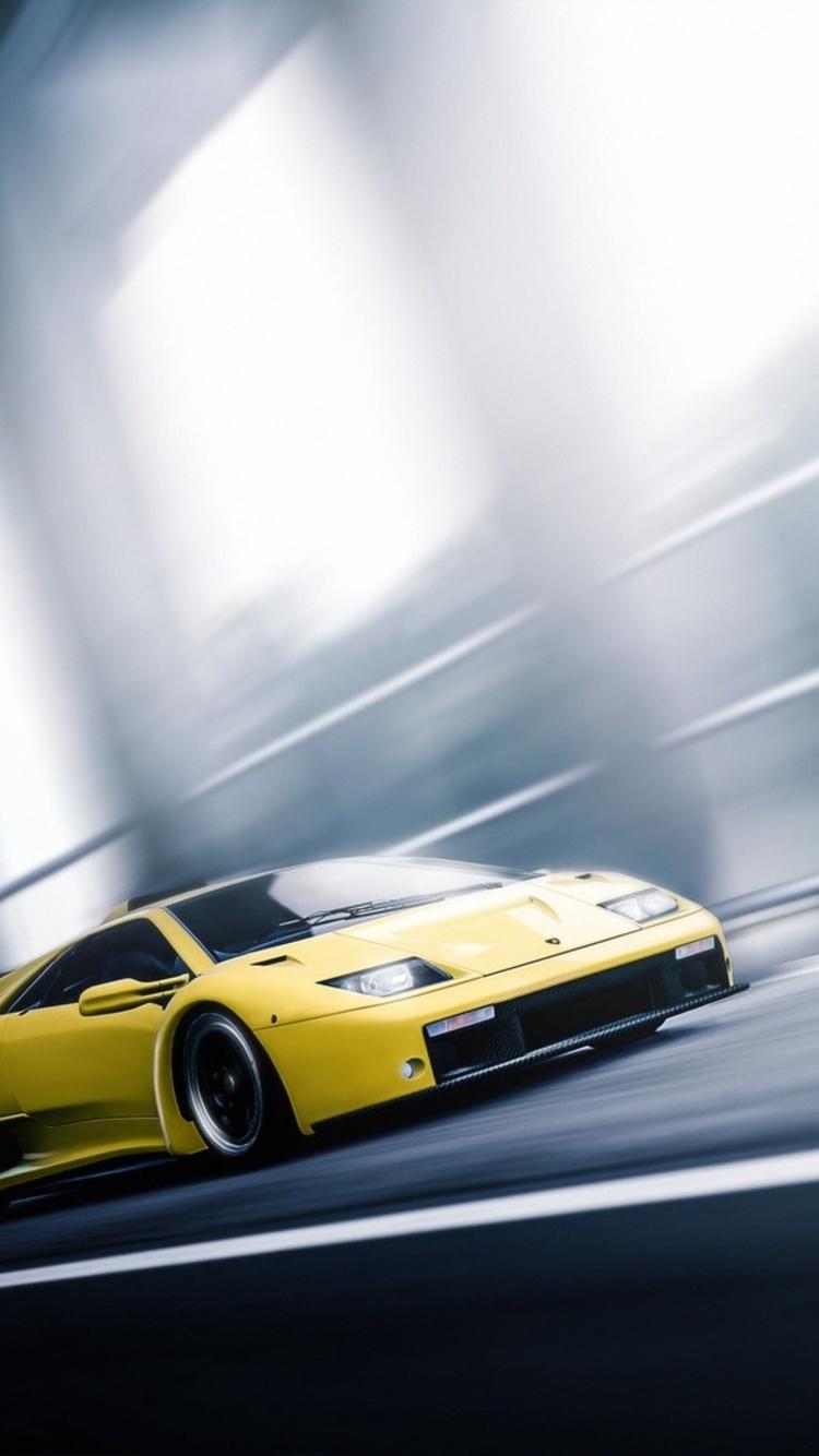 750x1334 Lamborghini Diablo In Motion Iphone 6 Iphone 6s Iphone 7