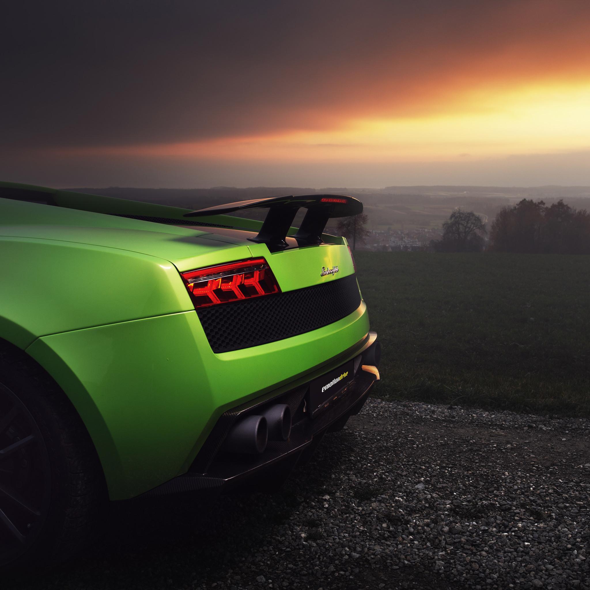 2048x2048 Lamborghini Gallardo Superleggera HD Ipad Air HD