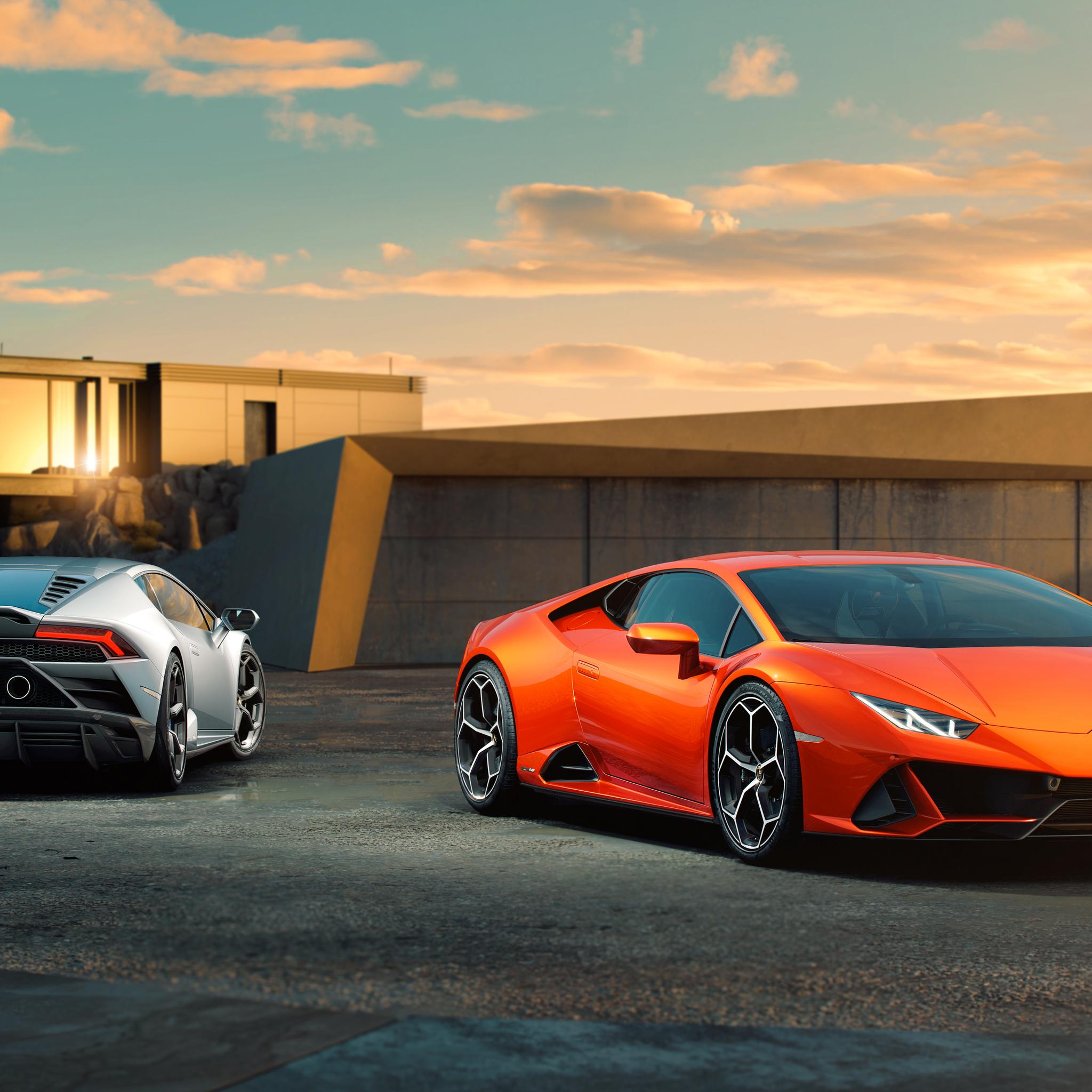 2048x2048 Lamborghini Huracan EVO 10k 2019 Ipad Air HD 4k